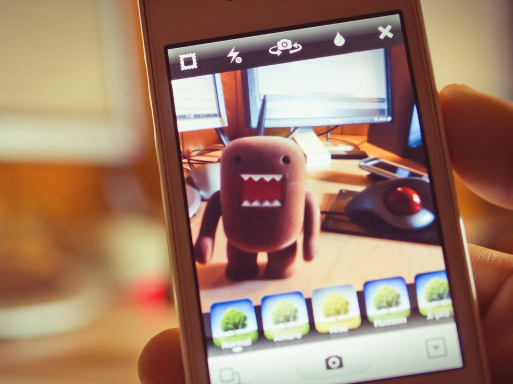 Instagram bietet viele Filter, mit denen Du jedoch sparsam umgehen solltest.