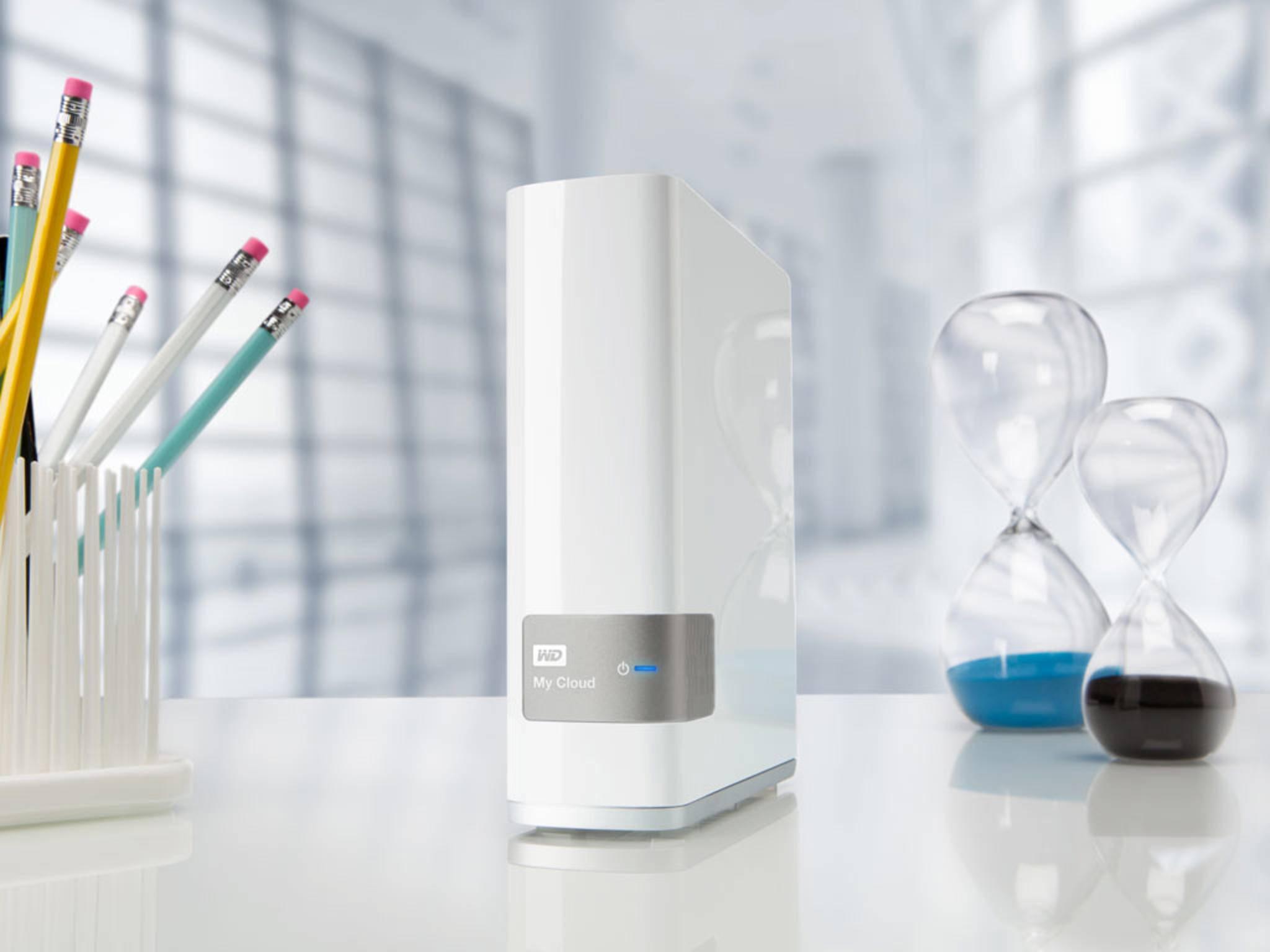 Der MyCloud NAS-Server lässt sich per Funkstick zu einer Smart-Home-Zentrale aufrüsten.