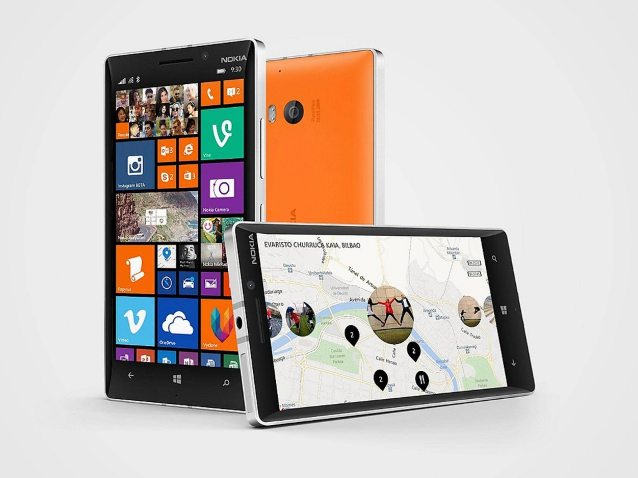 Geht als Sieger aus dem Test hervor: das Nokia Lumia 930.