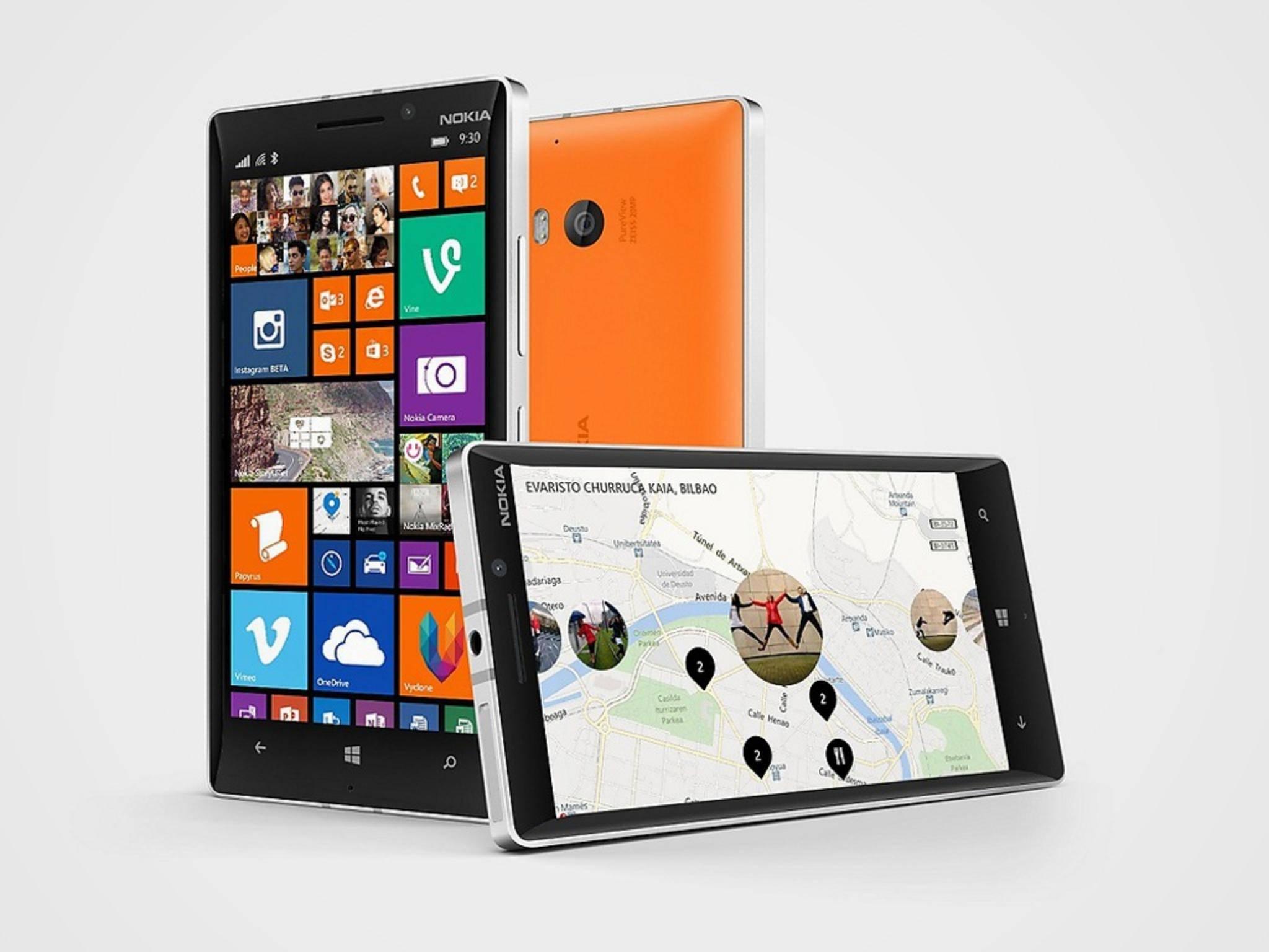 Das Lumia 930 wartet auf einen Nachfolger. Wird dieser mit einem Iris-Scanner punkten können?