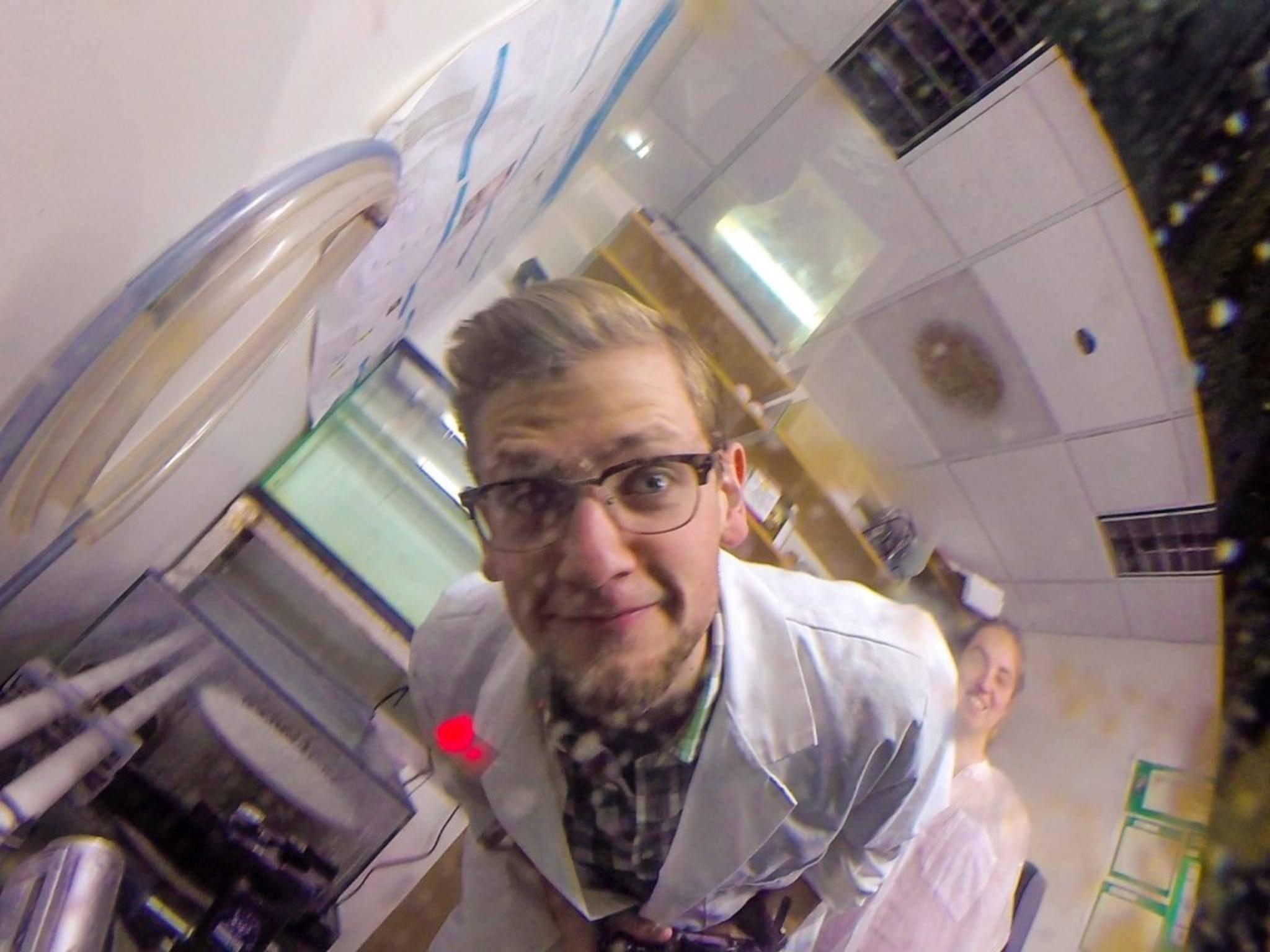 Ein Krake kann mit einer GoPro ganz schön viel Unsinn anstellen.