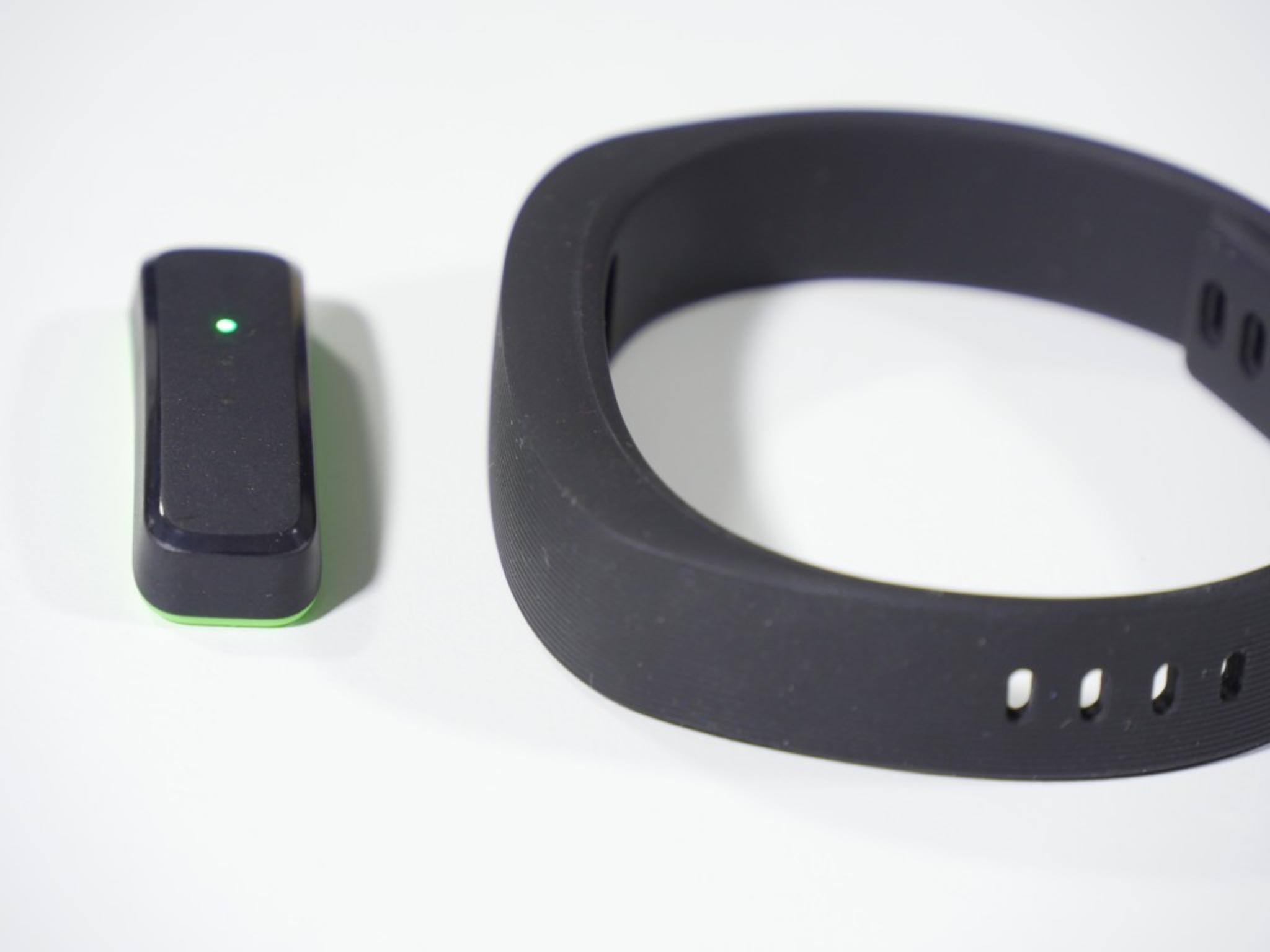 Statt Display besitzt die Sensoreinheit drei LEDs.