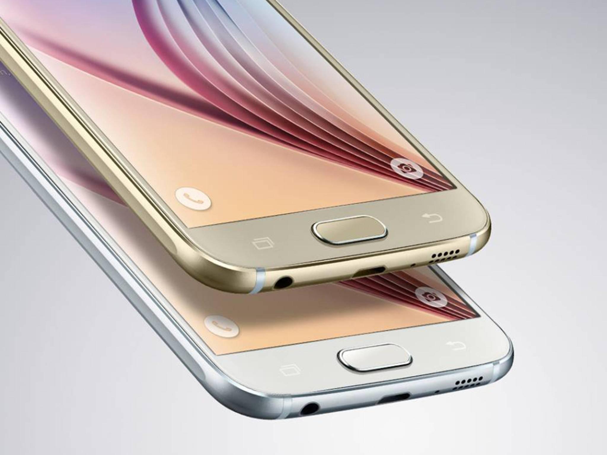 Das Samsung Galaxy S6 ist eines der Highlights des MWC 2015.