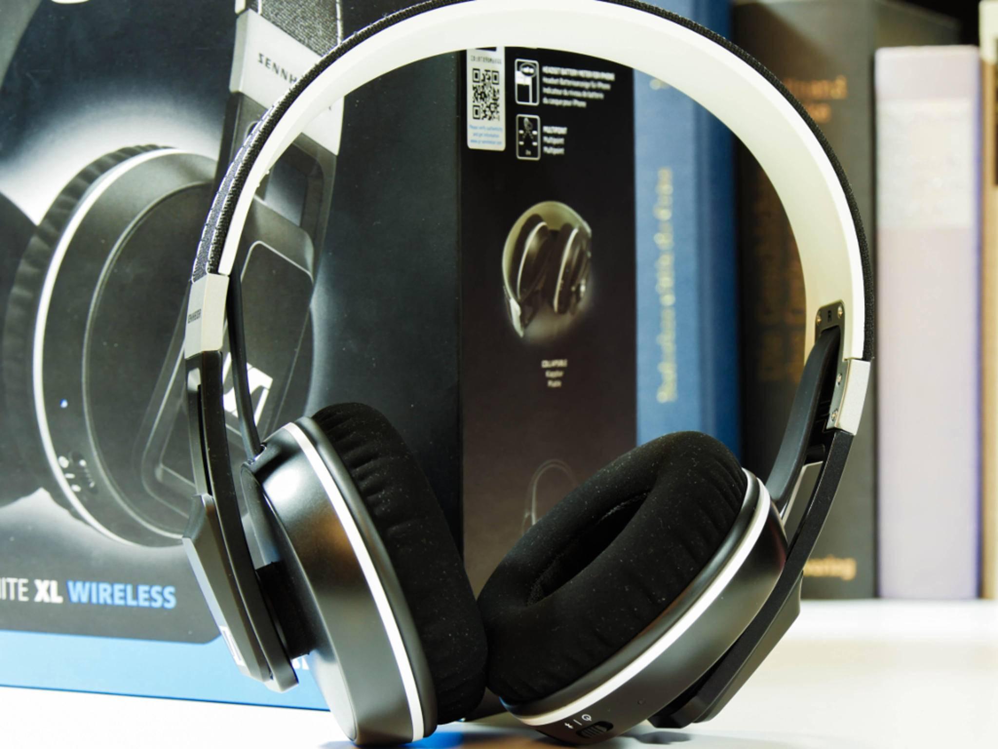 Der Sennheiser Urbanite XL Wireless hat ein stylisches Äußeres.