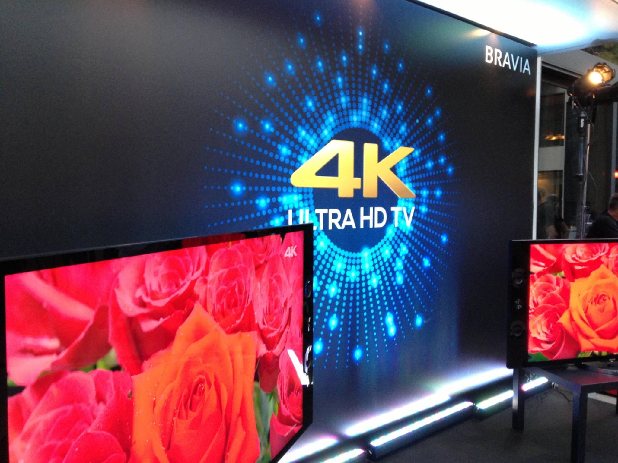 4K-Fernseher von Sony