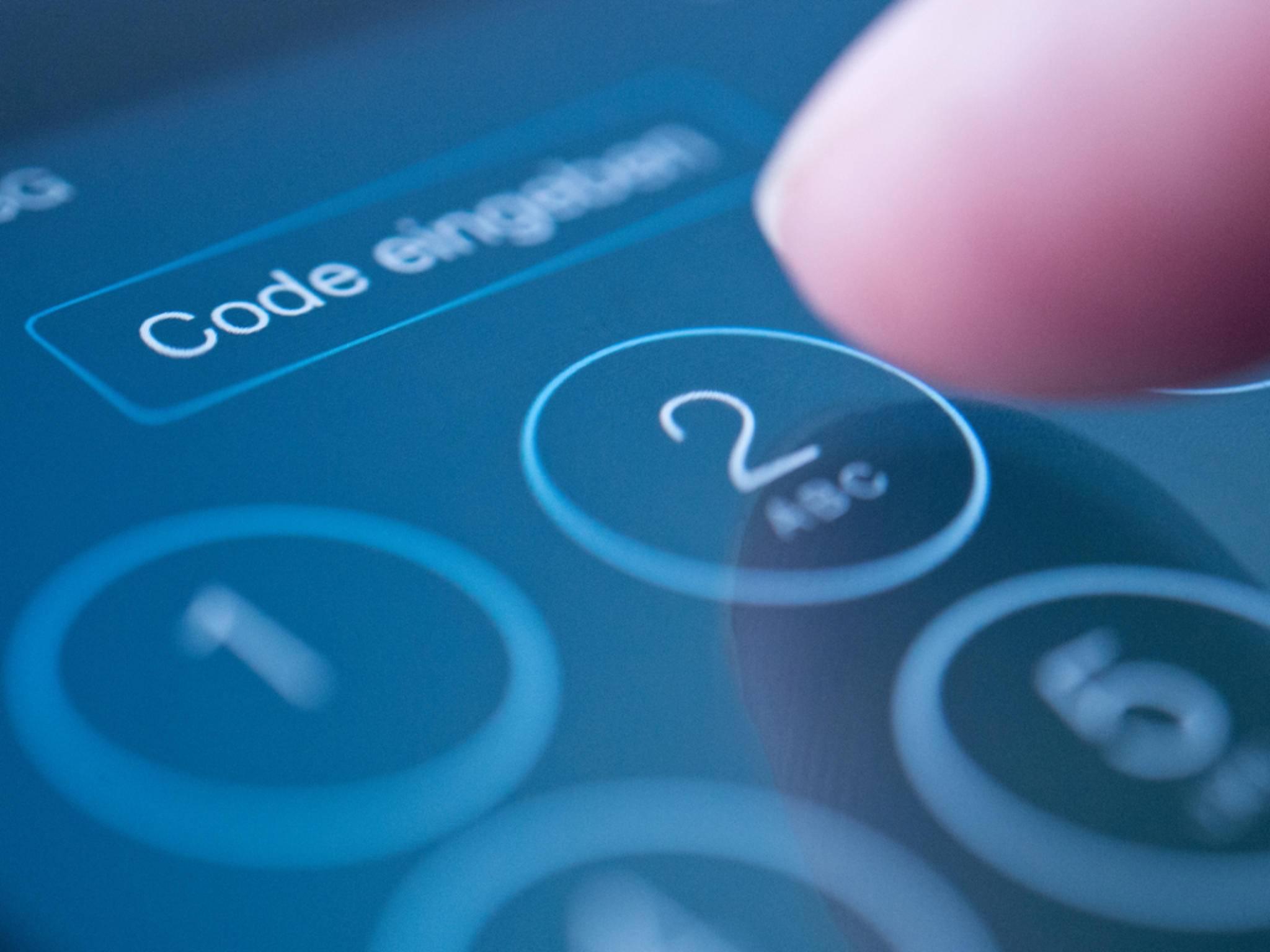 Der iPhone-Sperrcode kann sechsmal nacheinander falsch eingegeben werden.