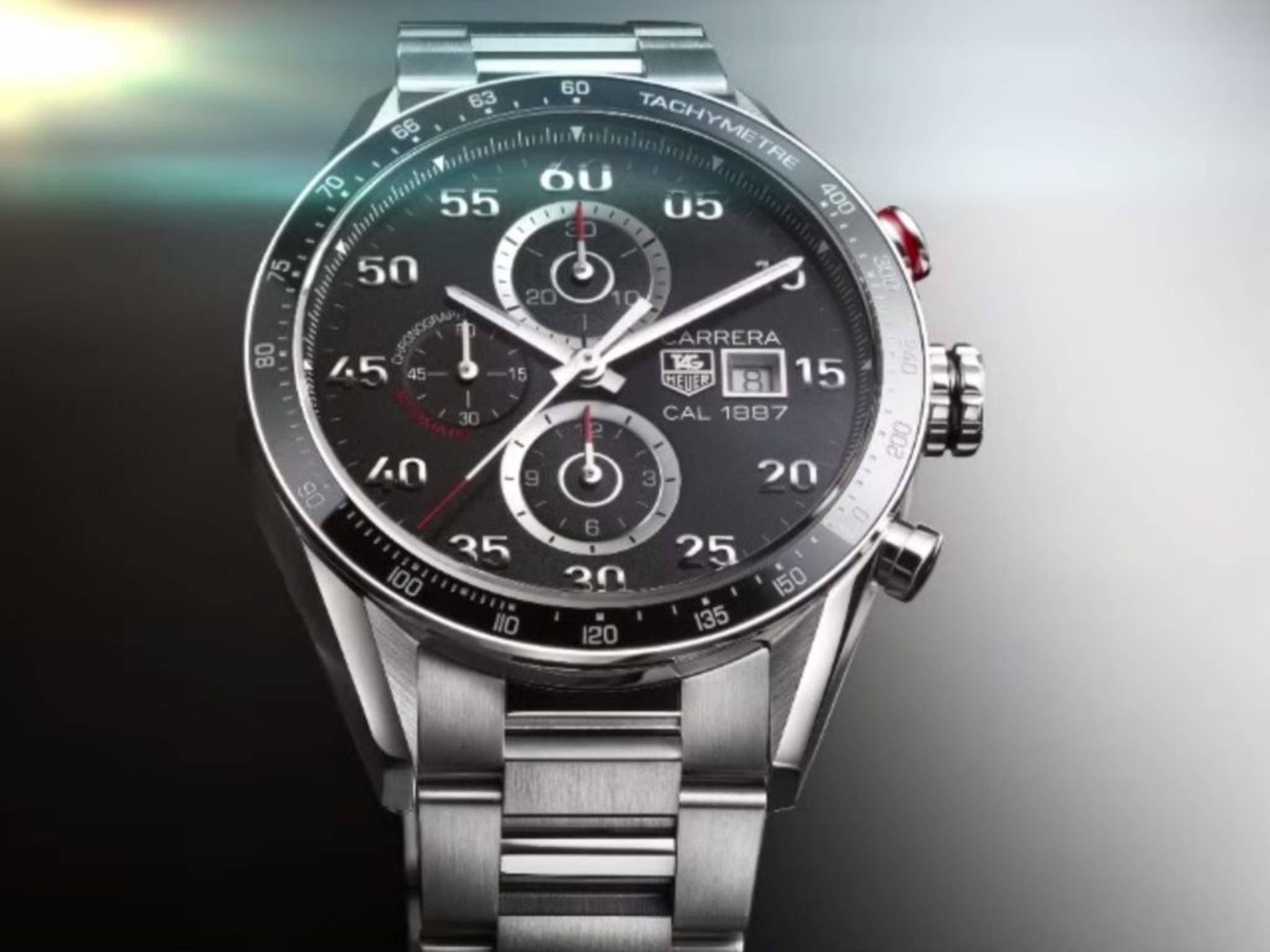 Die Carrera von TAG Heuer wird künftig zur Smartwatch.