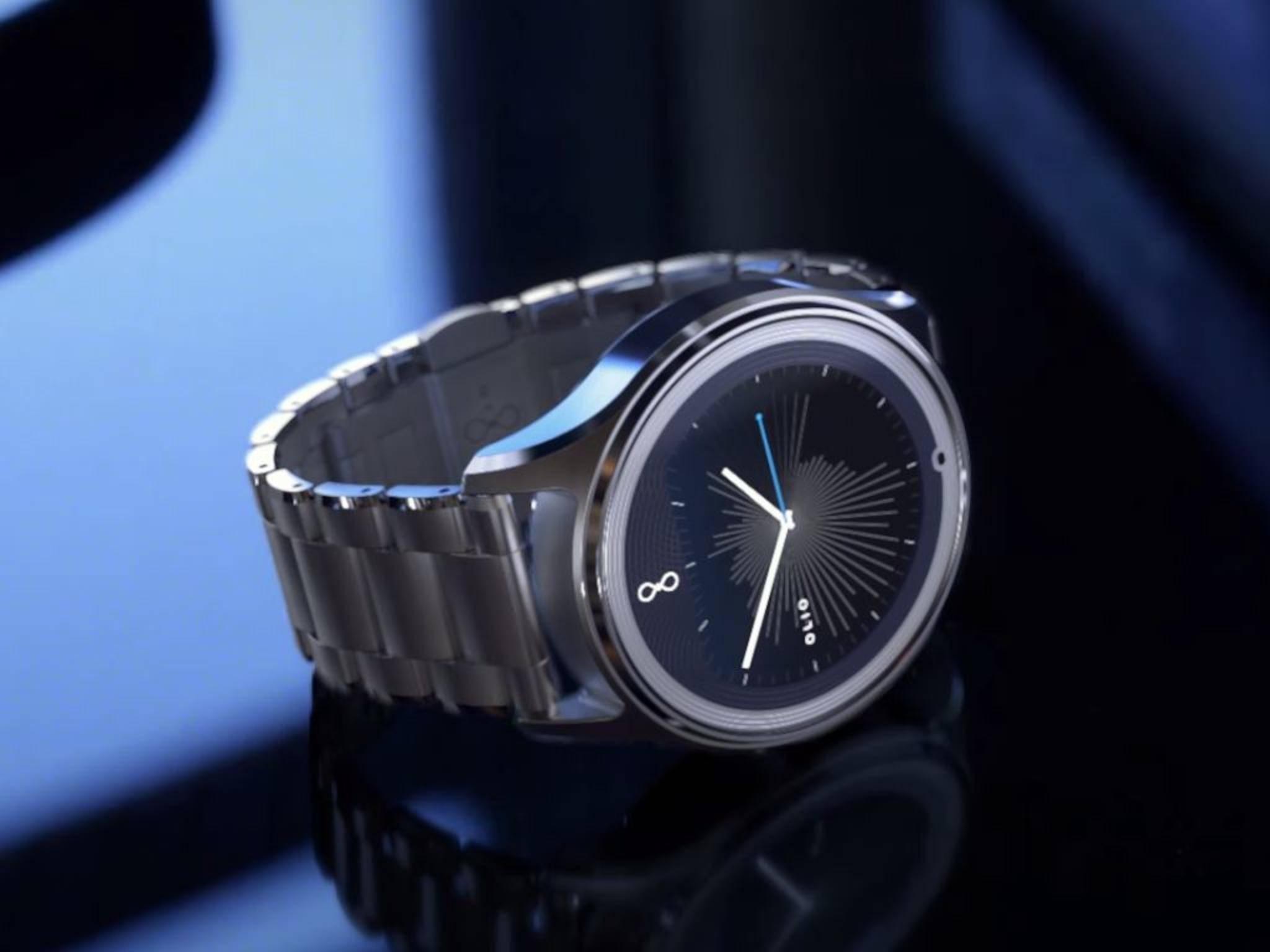 Back to Basic: Die Model One von Olio sagt der Apple Watch den Kampf an.