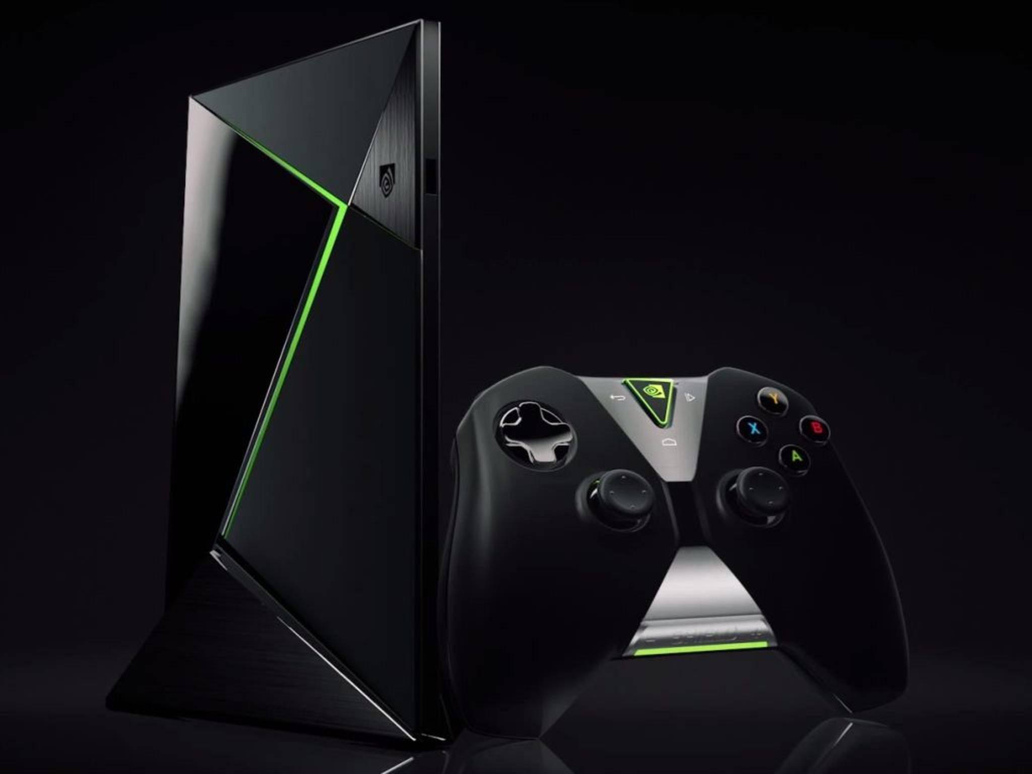 Sie sieht aus wie eine Mischung aus Xbox und PlayStation: die Nvidia Shield.