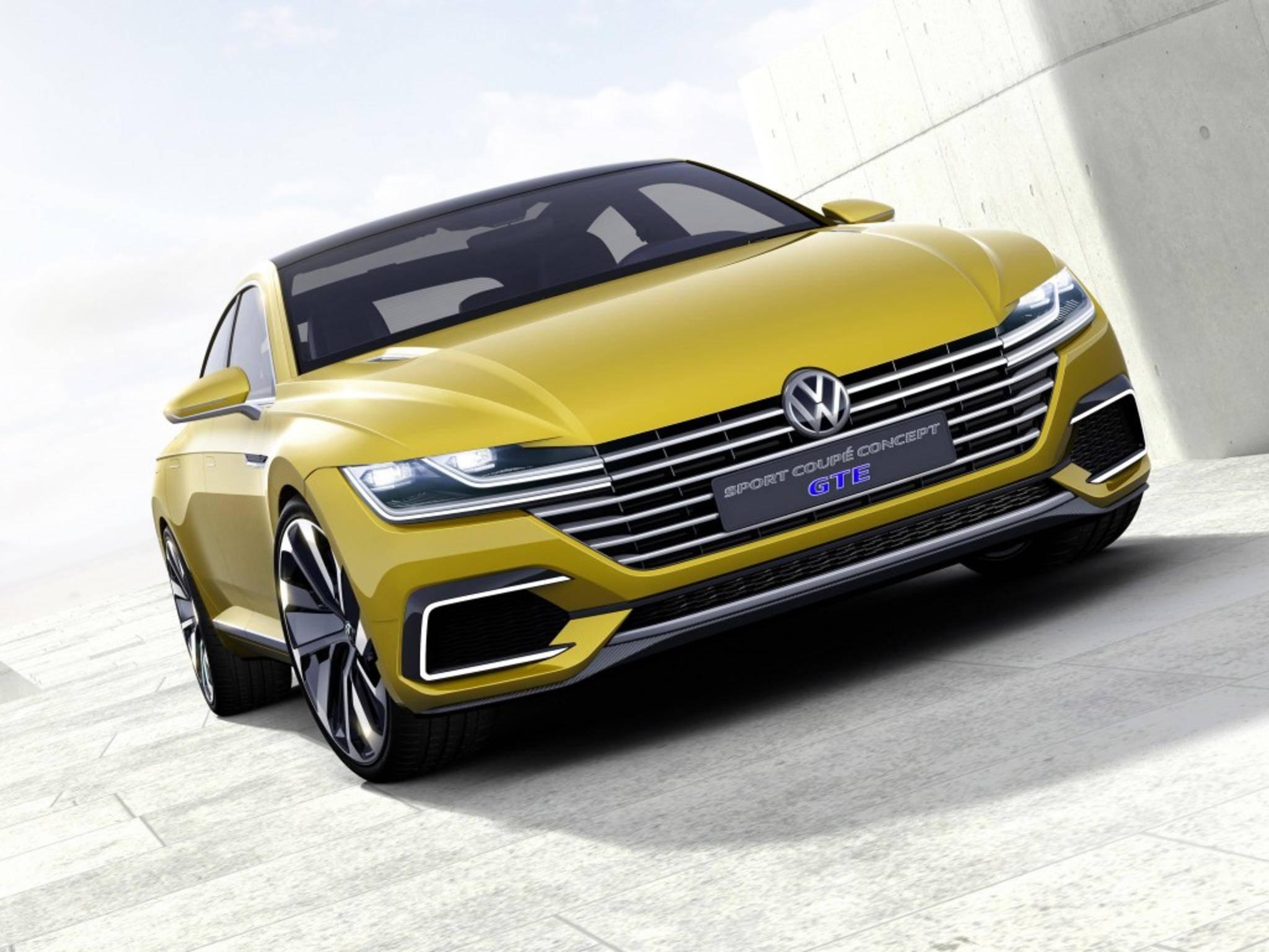 Das neue VW Concept Car kommuniziert mit der Smartwatch des Fahrers.