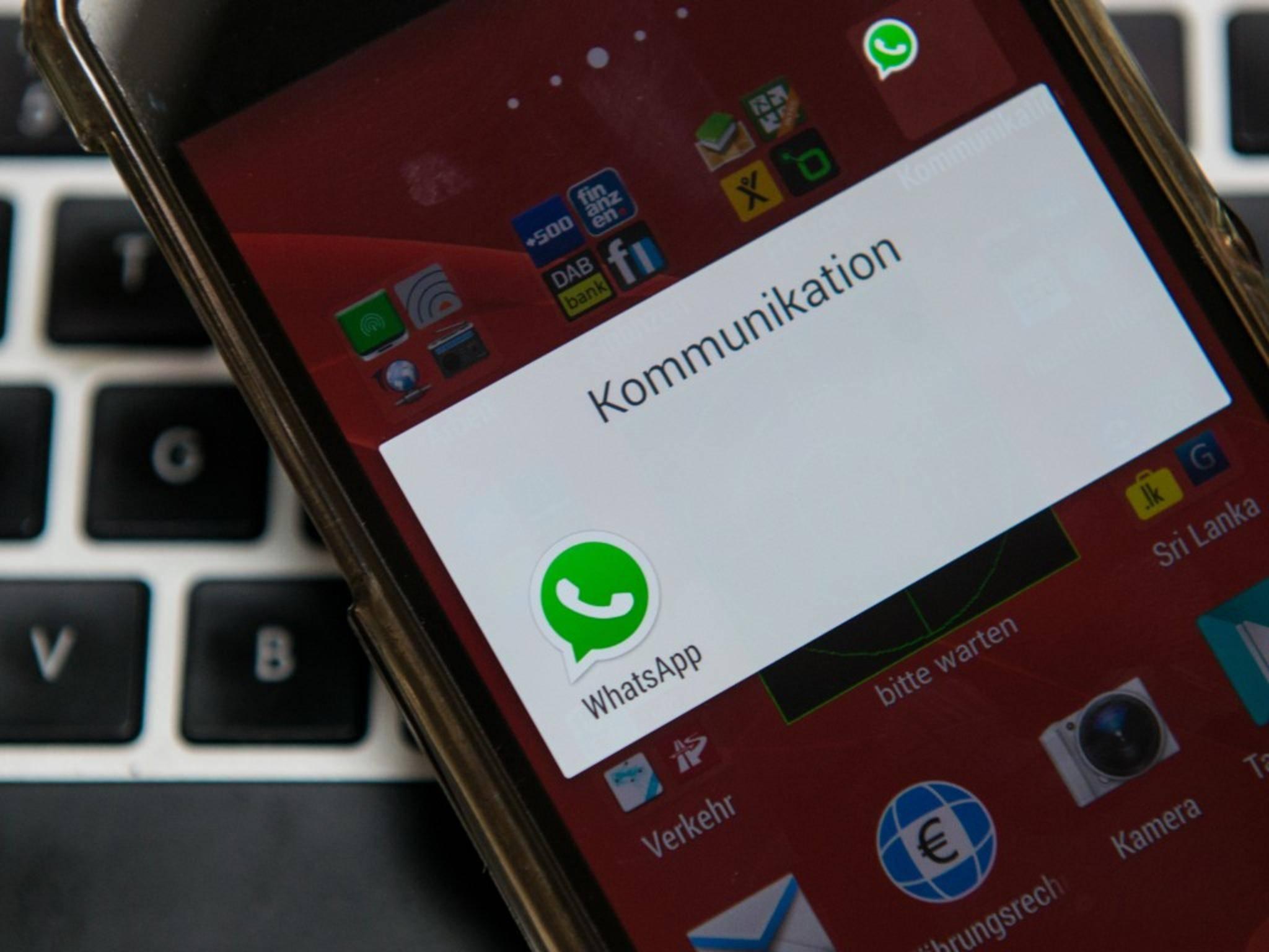 Auf Android-Smartphones funktioniert die WhatsApp-Telefonfunktion bereits.