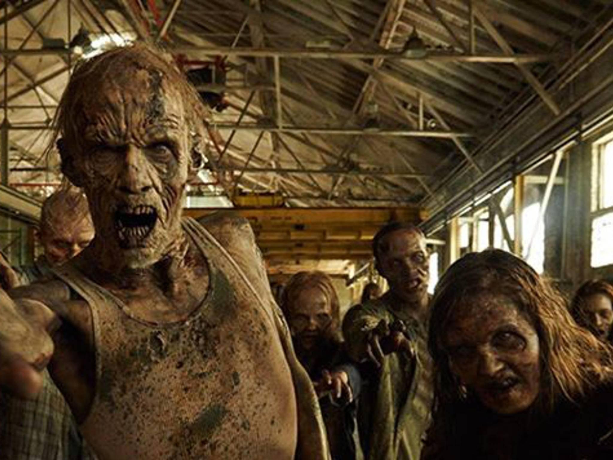 """Die Untoten aus """"The Walking Dead"""" spielen in einer Todesstatistik zur Serie eine gewichtige Rolle."""