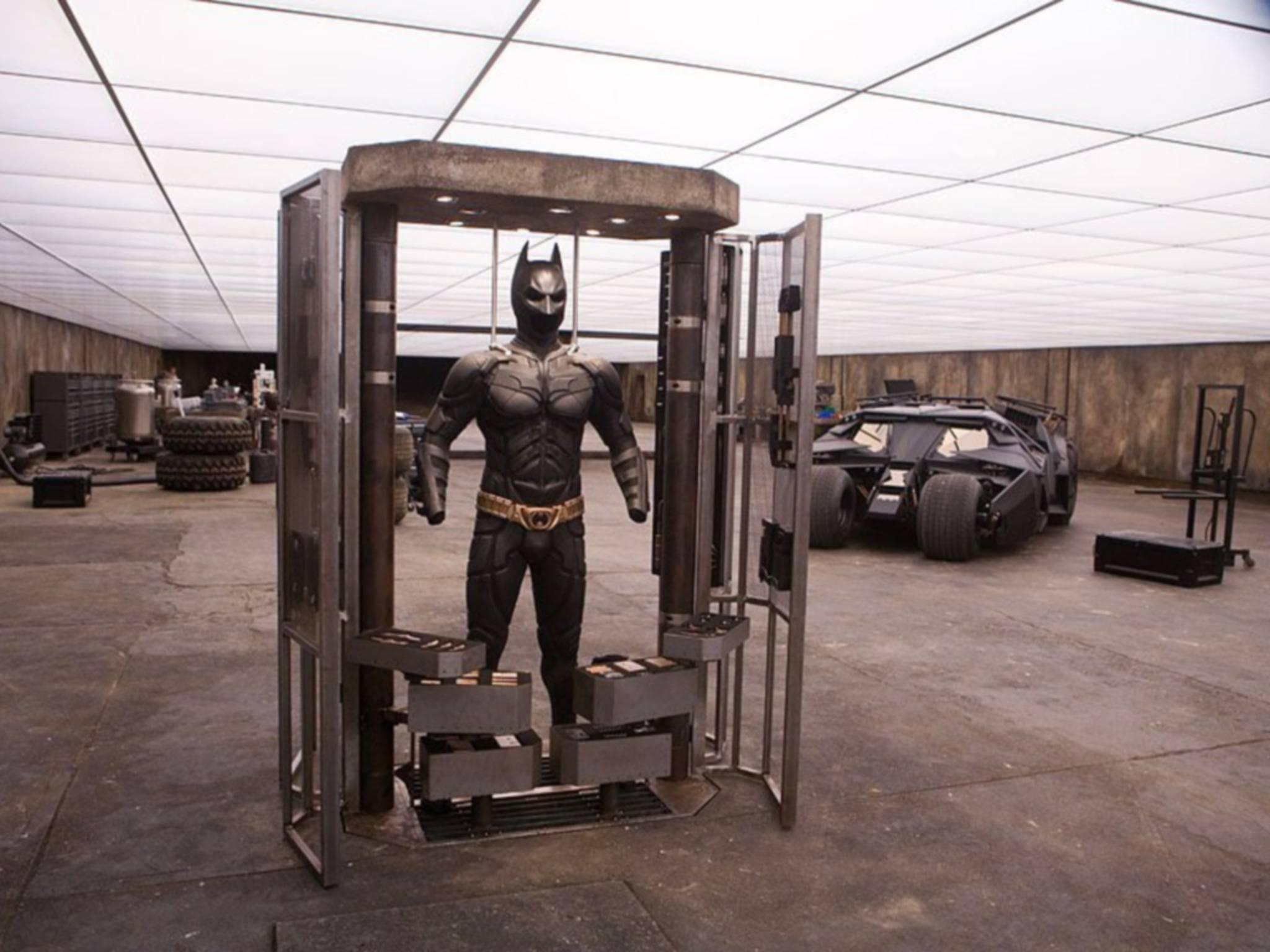 Wenn jemand coole Gadgets hat, dann ja wohl Batman.