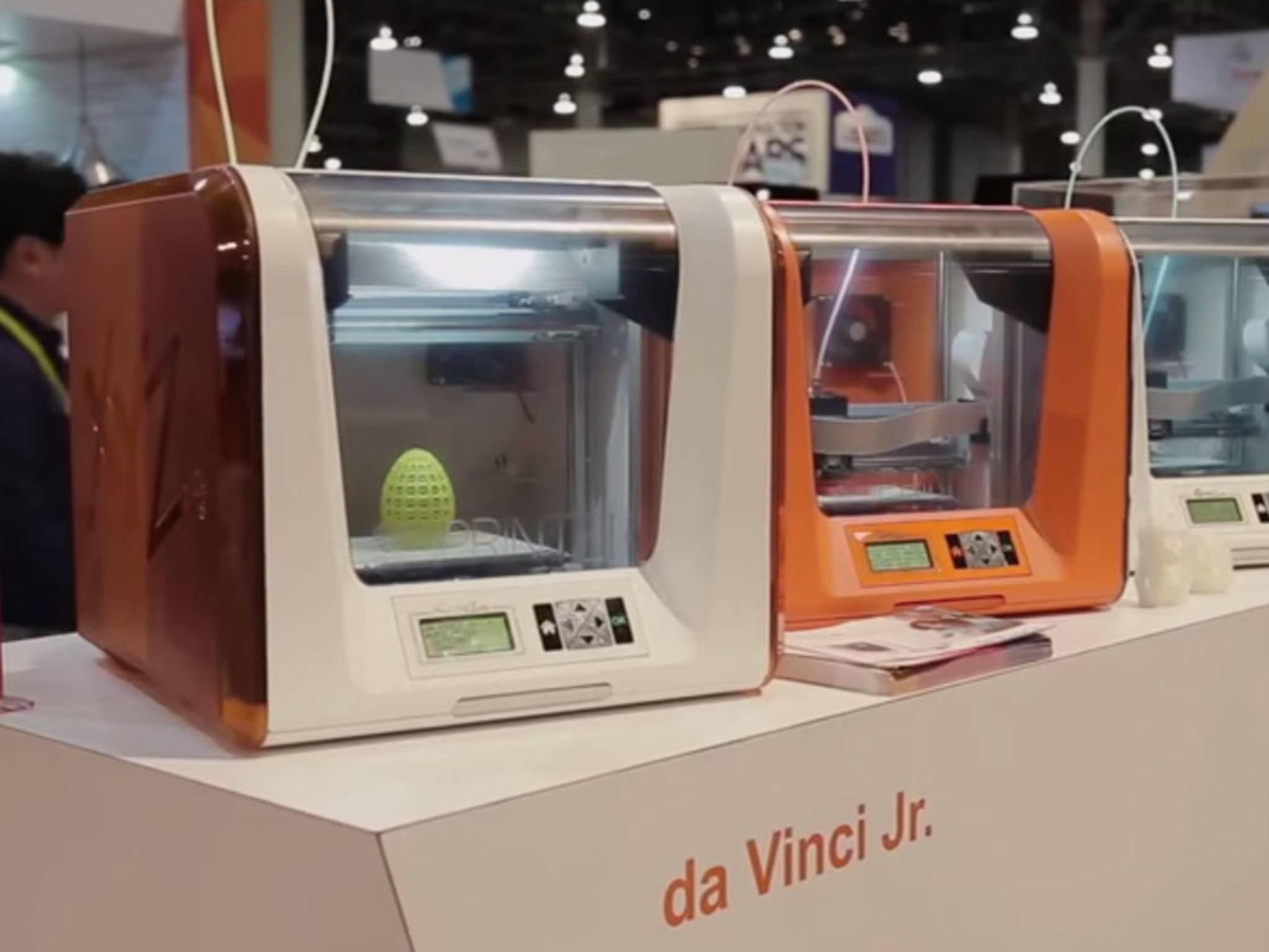 Da Vinci Junior: Ein erschwinglicher 3D-Drucker, der in den USA nur 349 Dollar kosten soll.