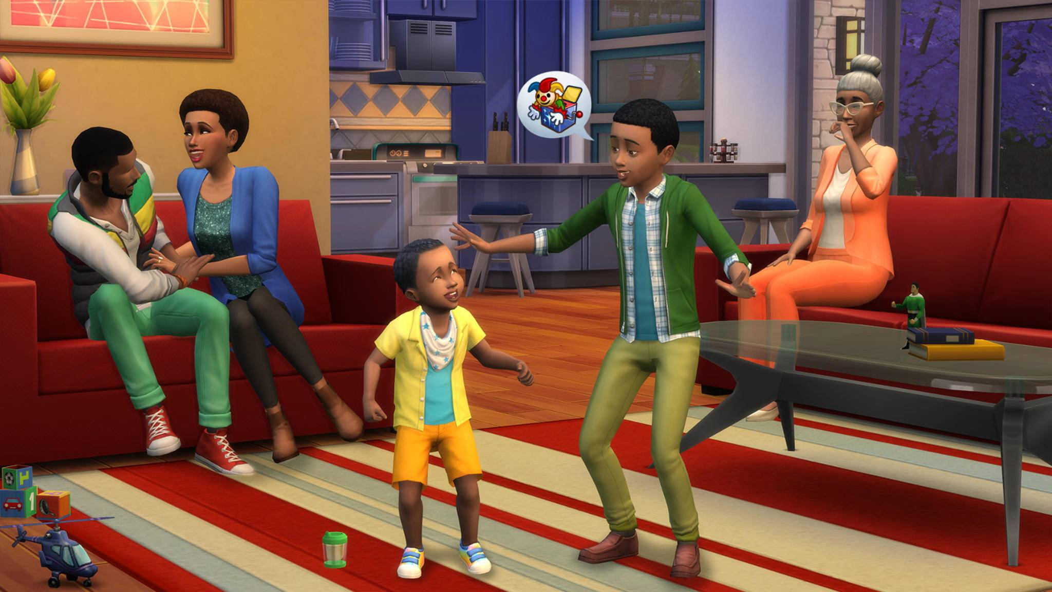 """Bald dürfen sich auch Konsolenspieler in """"Die Sims 4"""" ein zweites virtuelles Leben aufbauen."""