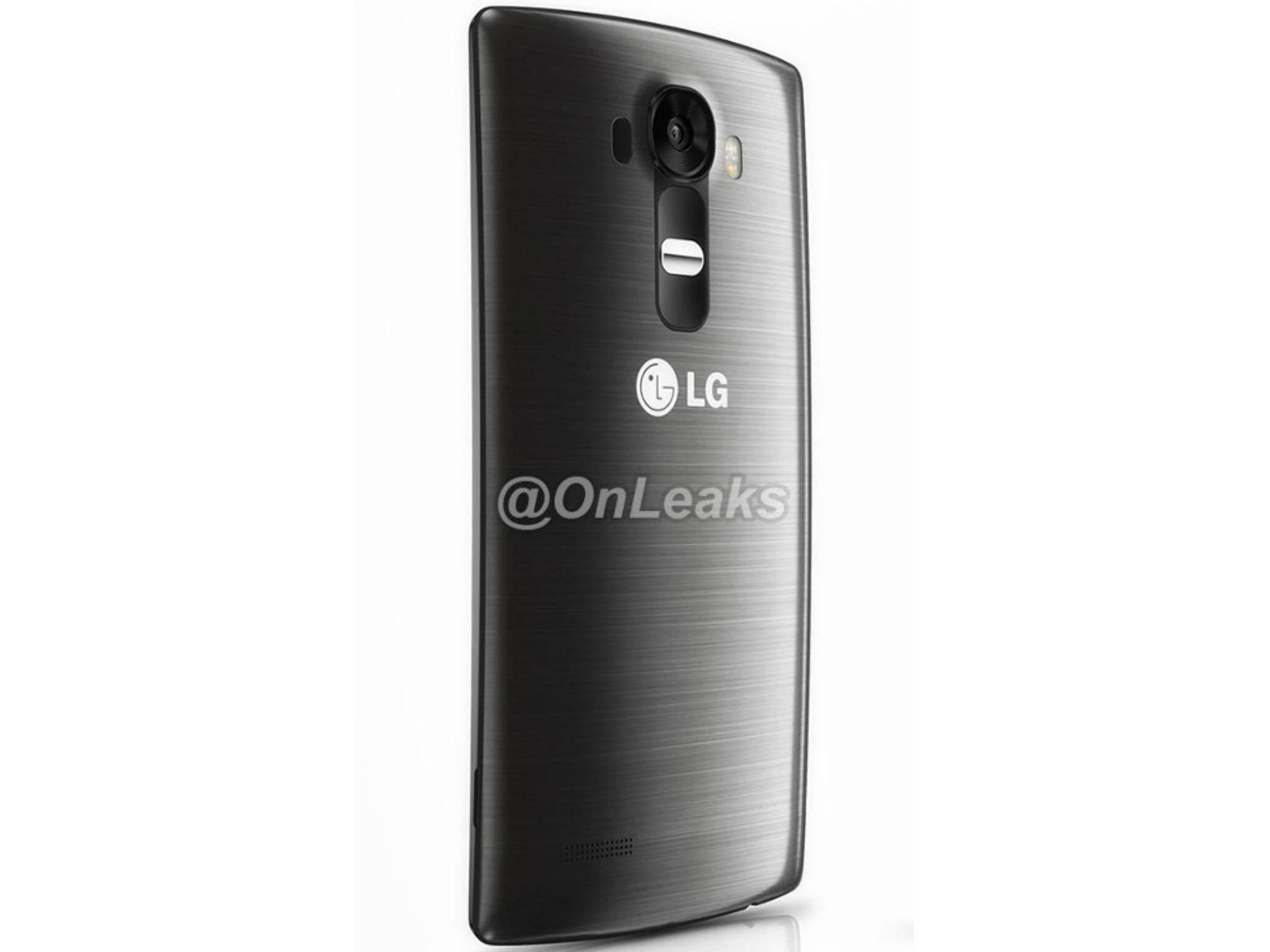 Sieht so das LG G4 aus? Twitter-Account OnLeaks zeigt diese inoffiziellen Bilder.