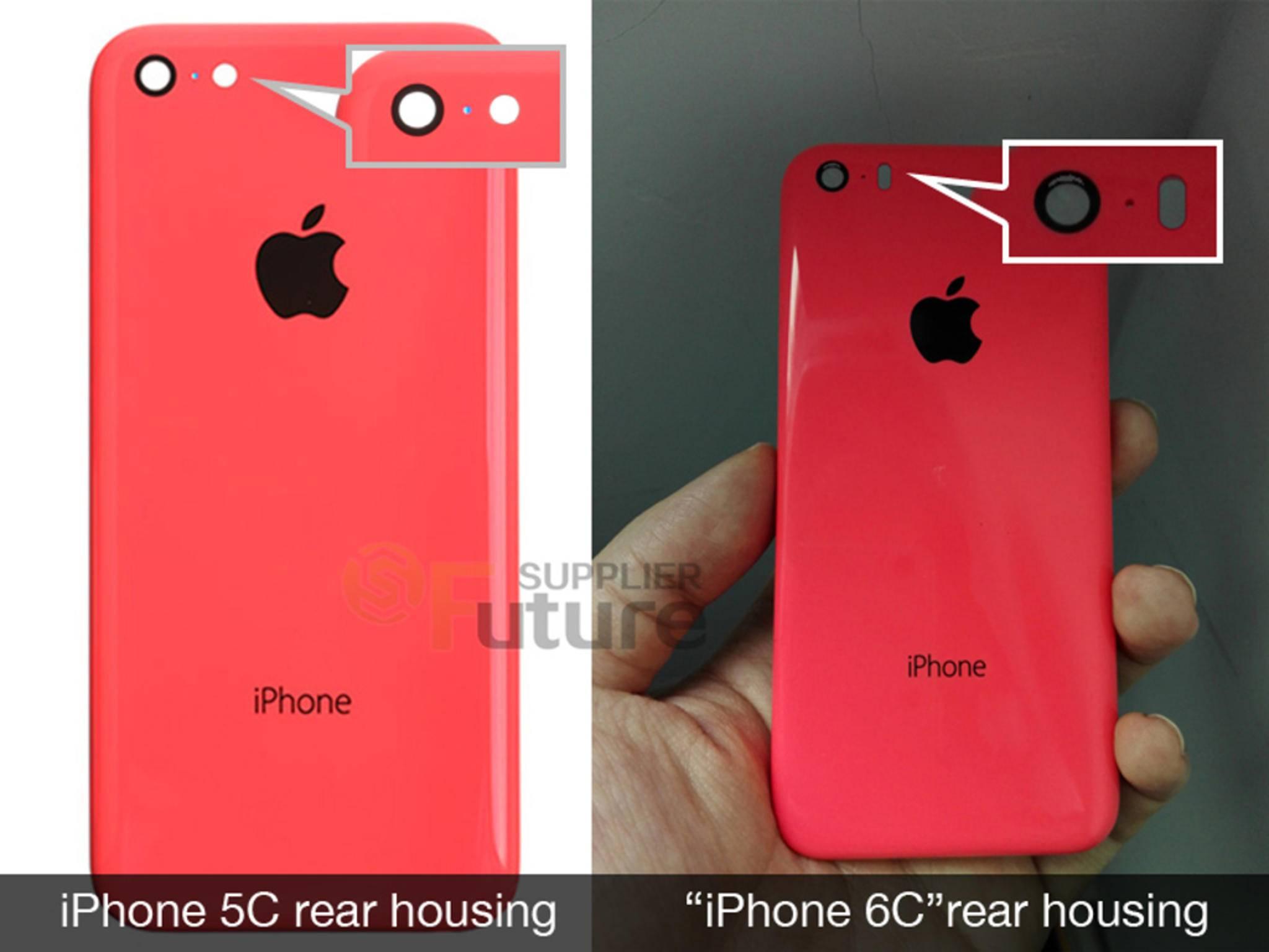 Dieses Foto soll das iPhone 6c zeigen.