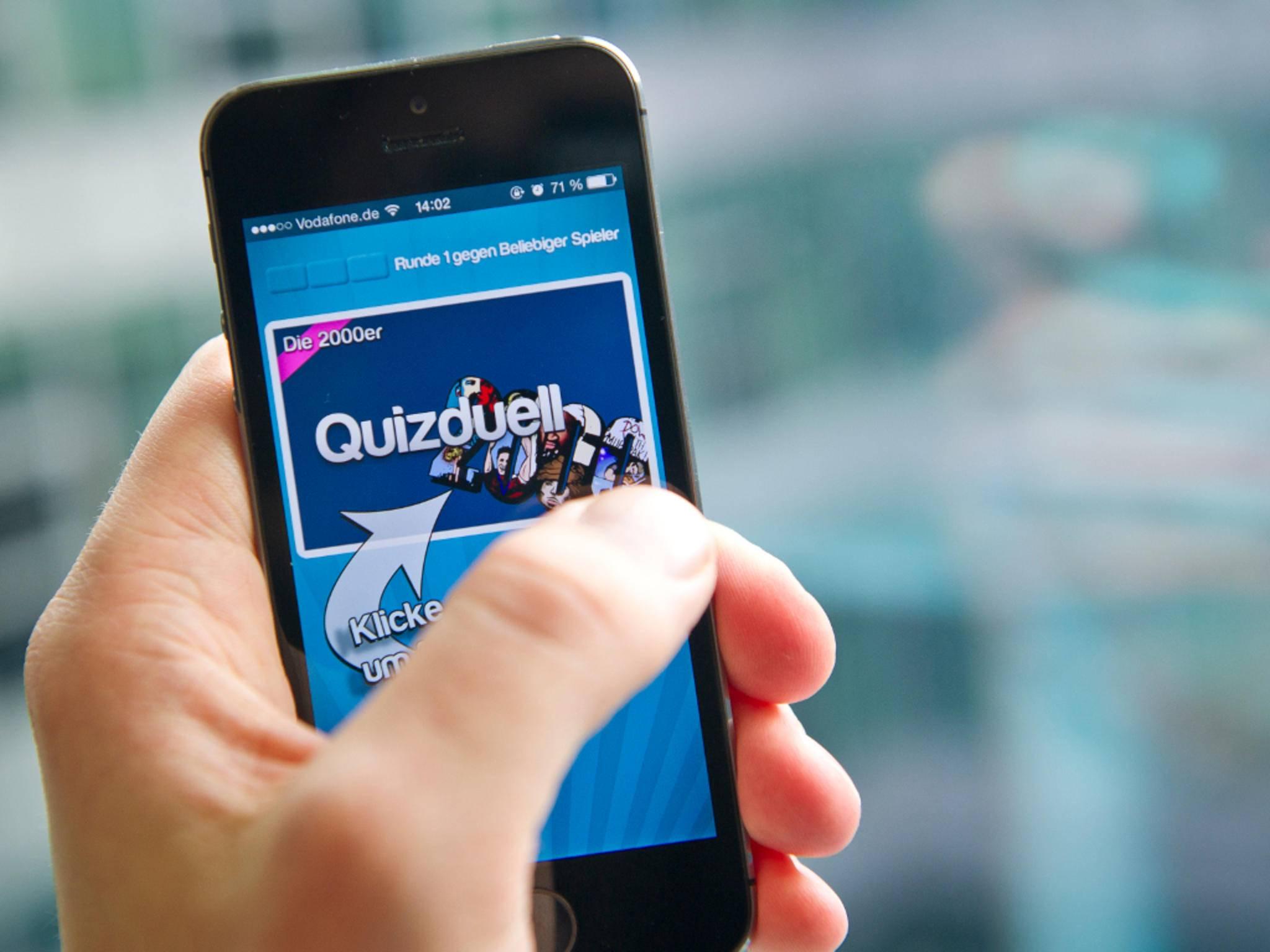 Quizduell gehört zu den beliebtesten iPhone-Spielen.