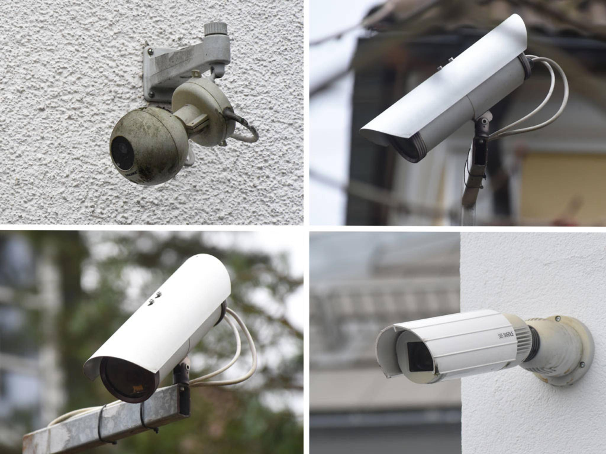 Ip-Kameras an Wohnhäusern