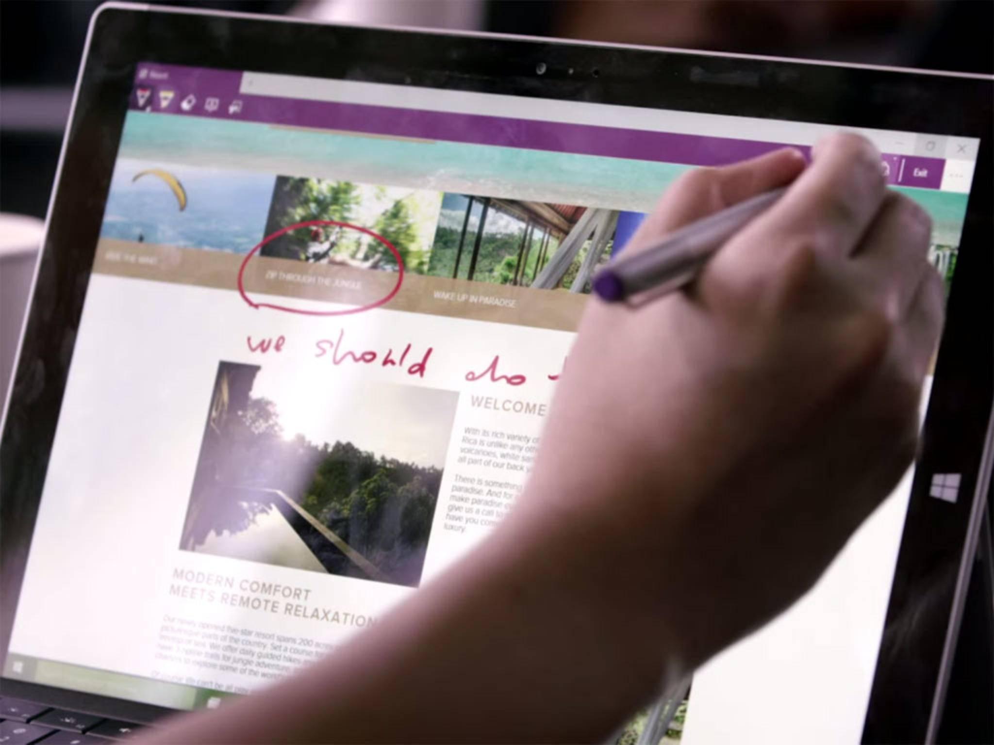 Der neue Spartan-Browser in Windows 10