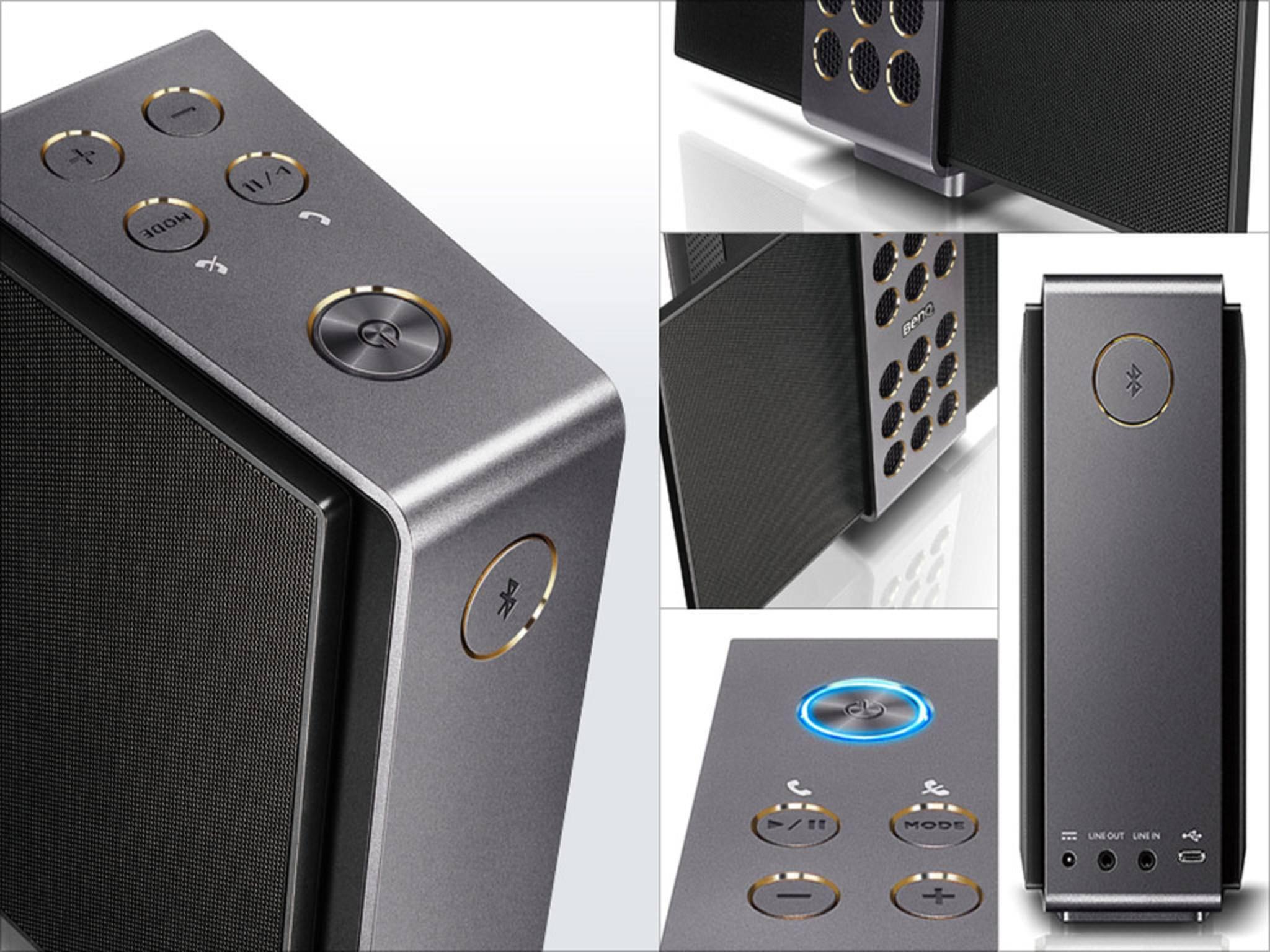 Der BenQ treVolo-Lautsprecher gilt als absolutes Bluetooth-Klangwunder.