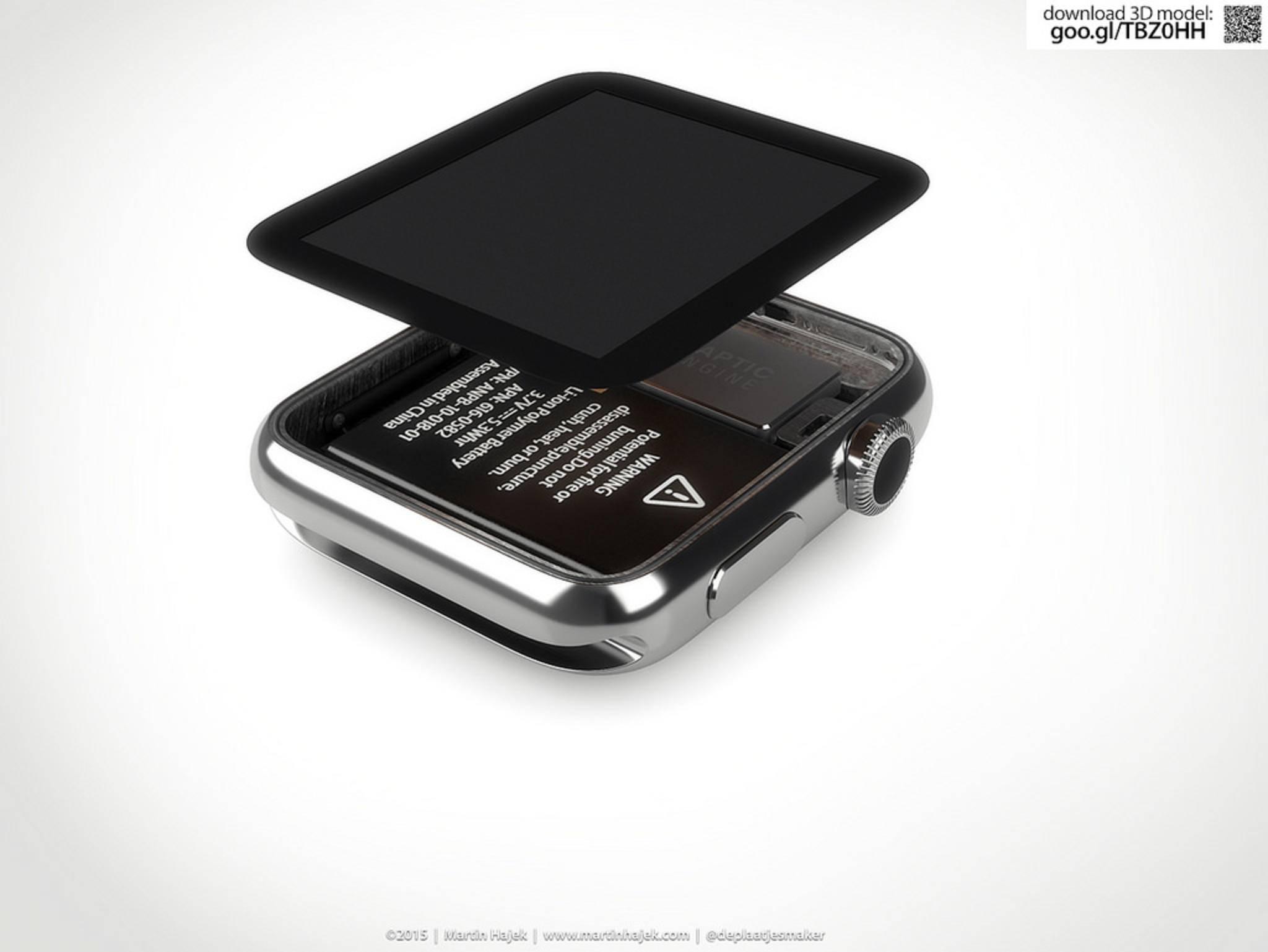 Apple Watch: Konzept von Martin Hajek.