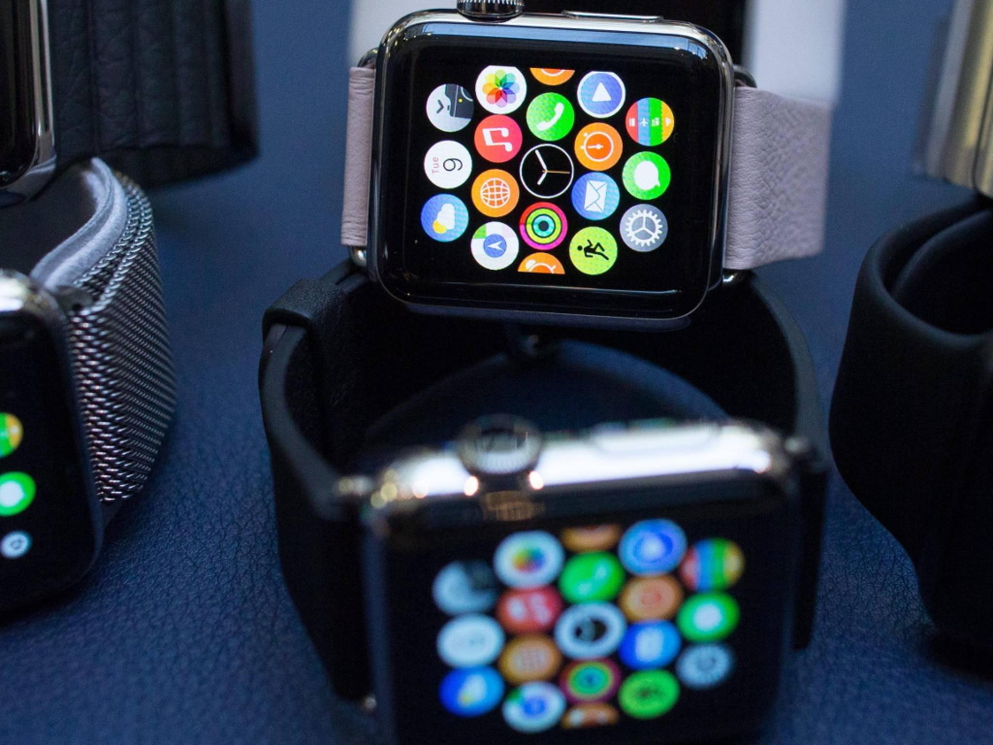 Die Apple Watch kann ab sofort vorbestellt werden.