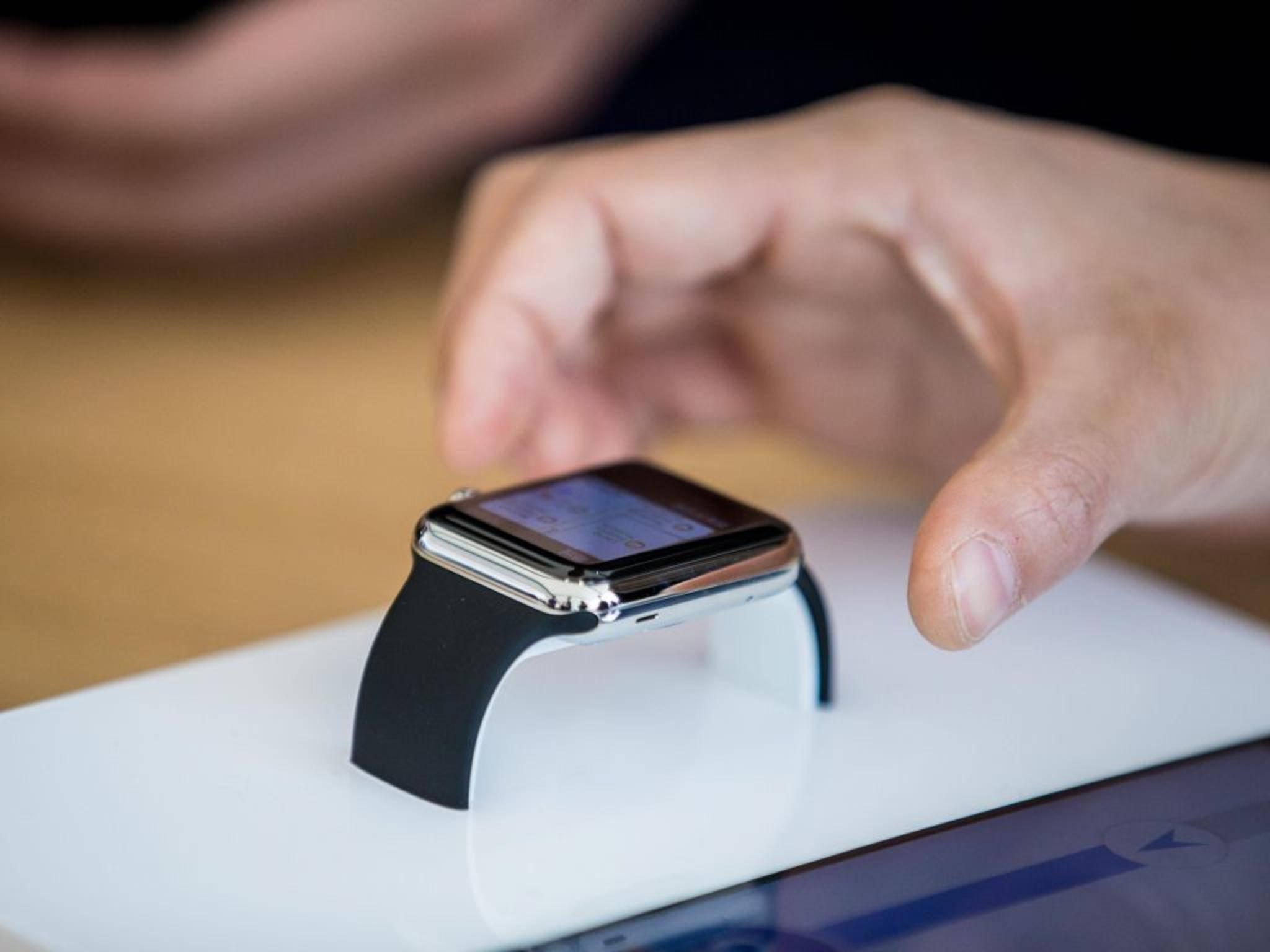 Unzählige Menschen wollten sie am gestrigen Launch-Tag ansehen und anfassen: die Apple Watch.