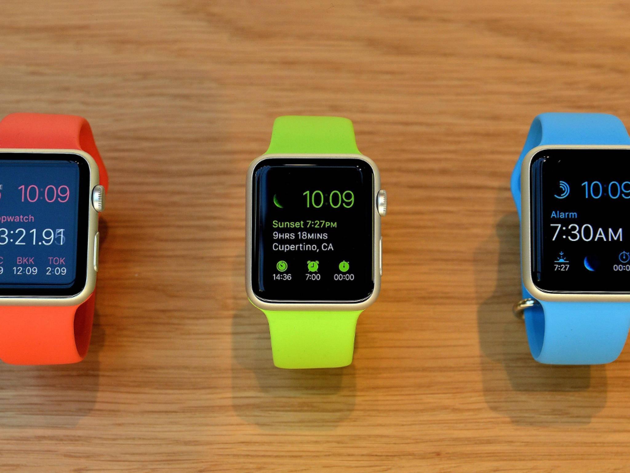 Viele Apps wurden bereits für die Apple Watch optimiert.