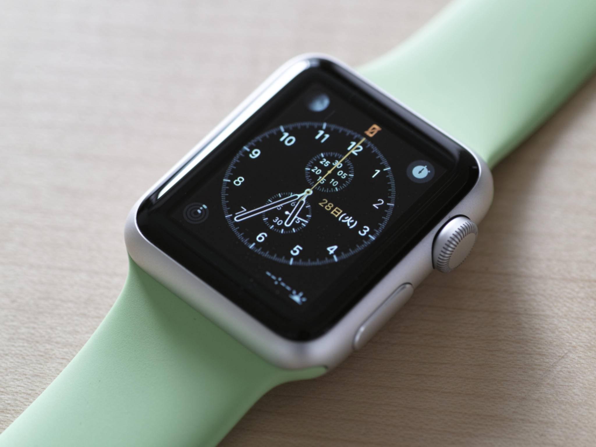 Die Apple Watch kommt in die Apple Stores.
