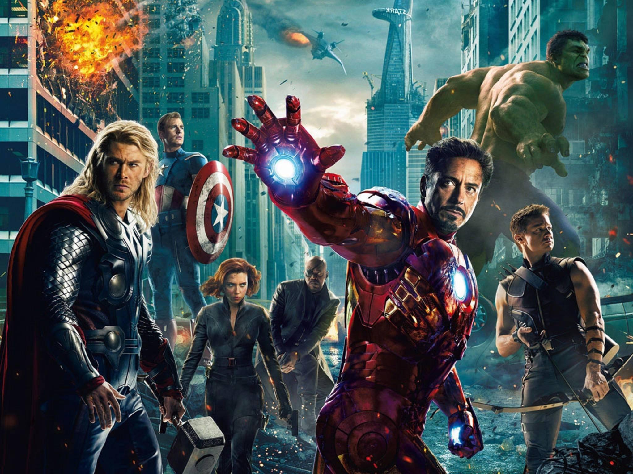 """Für """"Avengers: Infinity War"""" tun sich Marvels """"Rächer"""" erstmals mit den Guardians zusammen."""