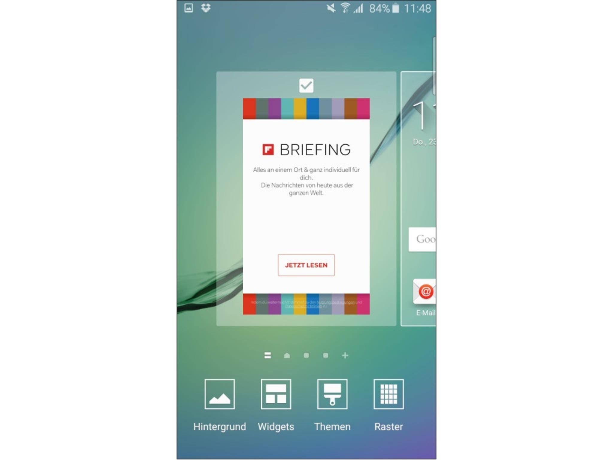 Galaxy S6 Screenshot 9