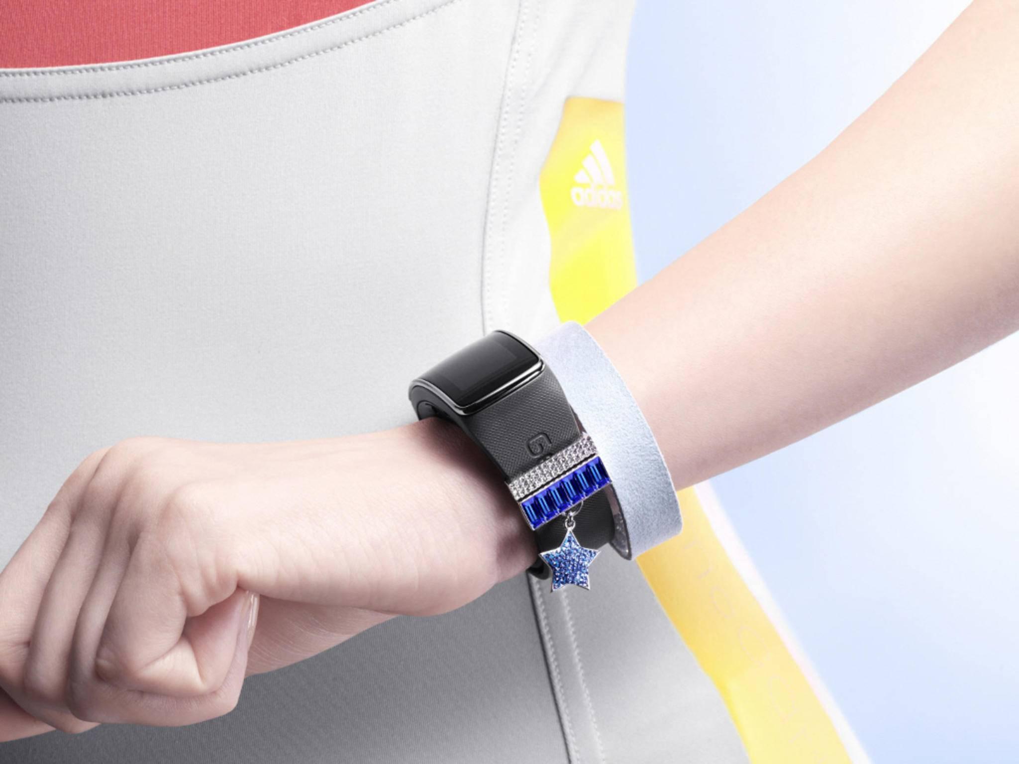 Das Samsung Gear Fit ist schon eineinhalb Jahre alt.