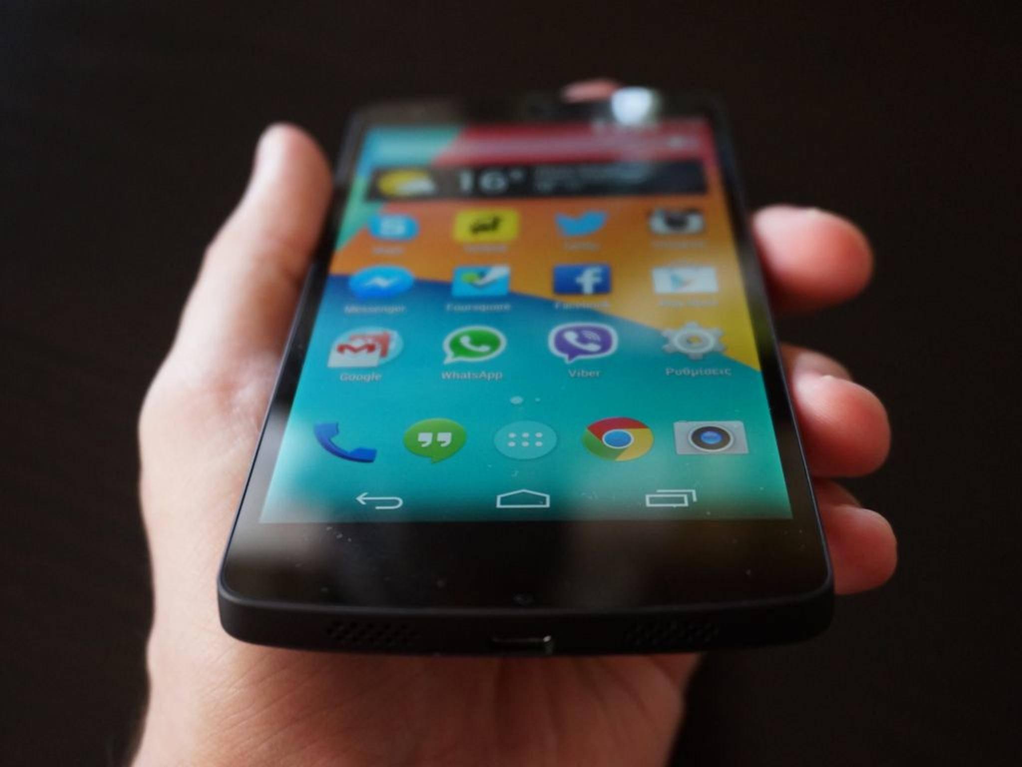 Das Nexus 5 kommt in der 2015er Version von LG.