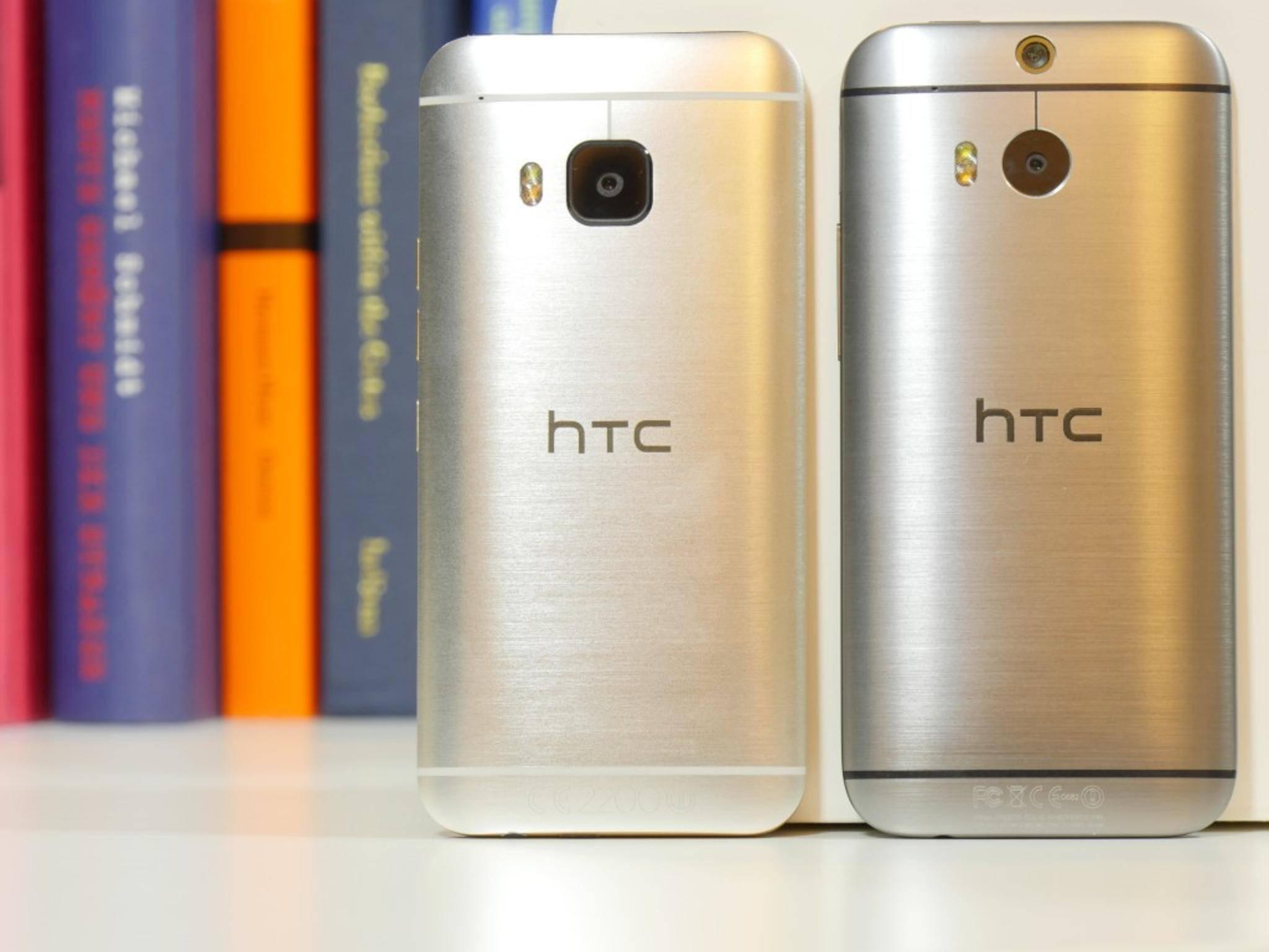 HTC One M8 und One M9 16