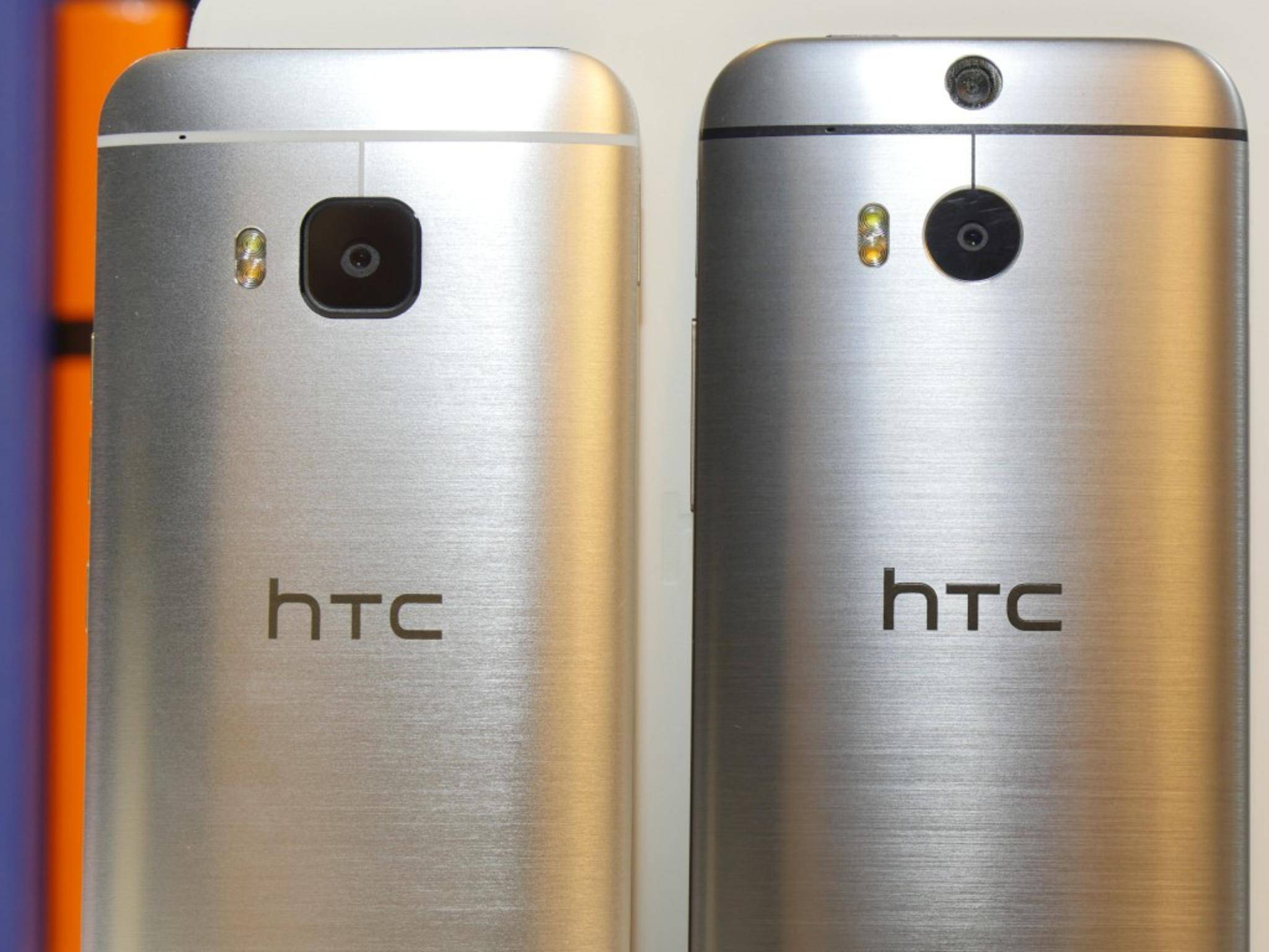 Der Antennenstreifen bleibt wohl auch beim HTC One M10 so deutlich sichtbar.