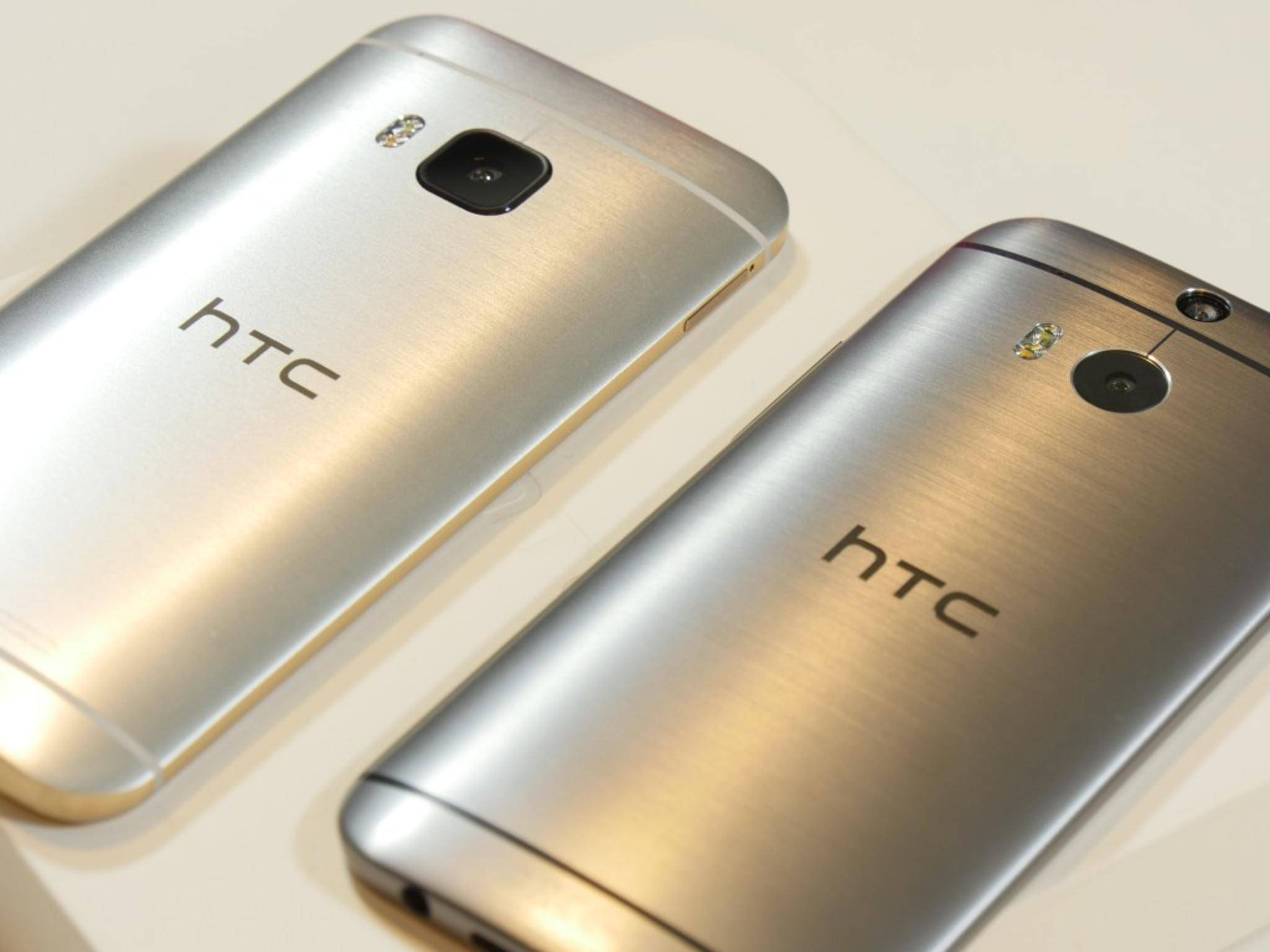 HTC One M8 und One M9 3
