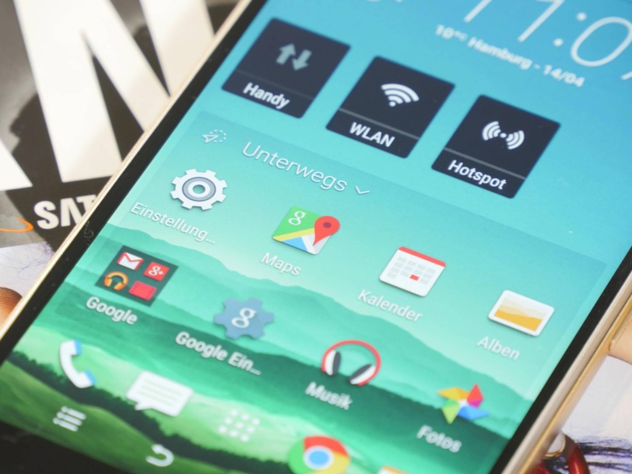 Eine Neuerung des HTC One M9 ist das Sense-Startseiten-Widget.