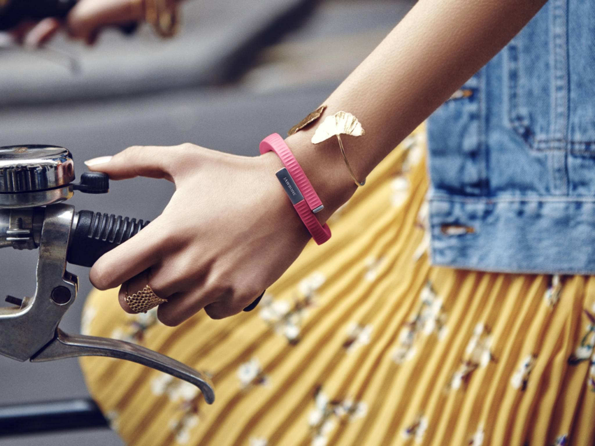 Jawbone hat sich vor allem als Hersteller von Fitness-Trackern einen Namen gemacht.