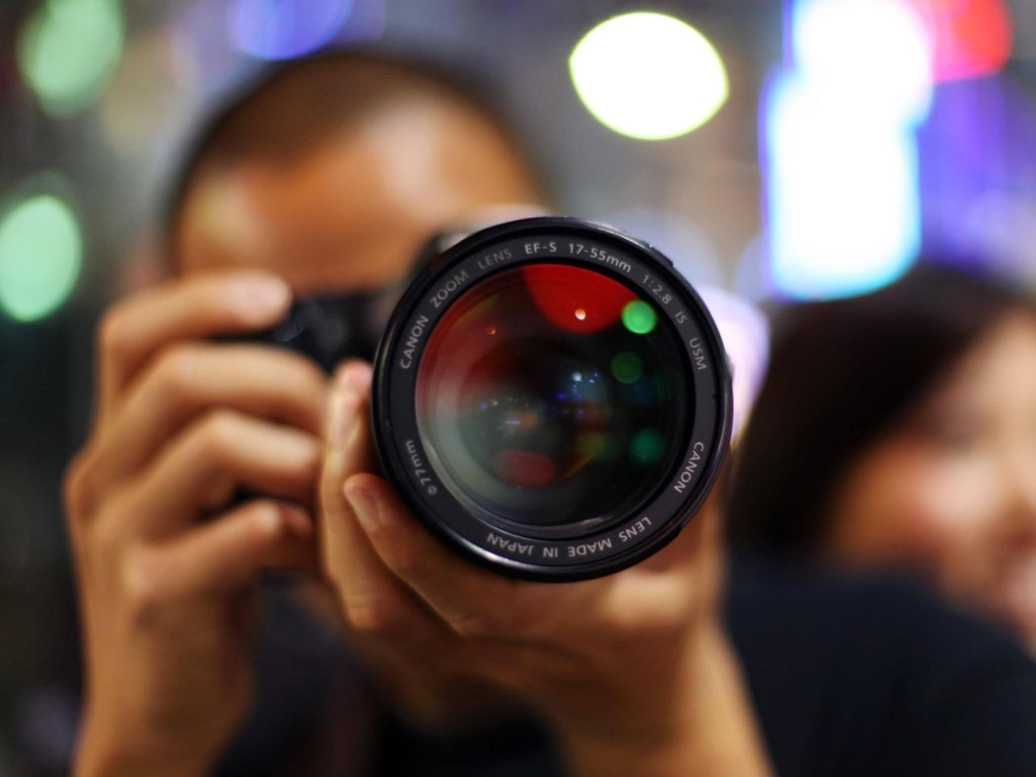 Auch das Kameraobjektiv muss den Megapixeln gewachsen sein.