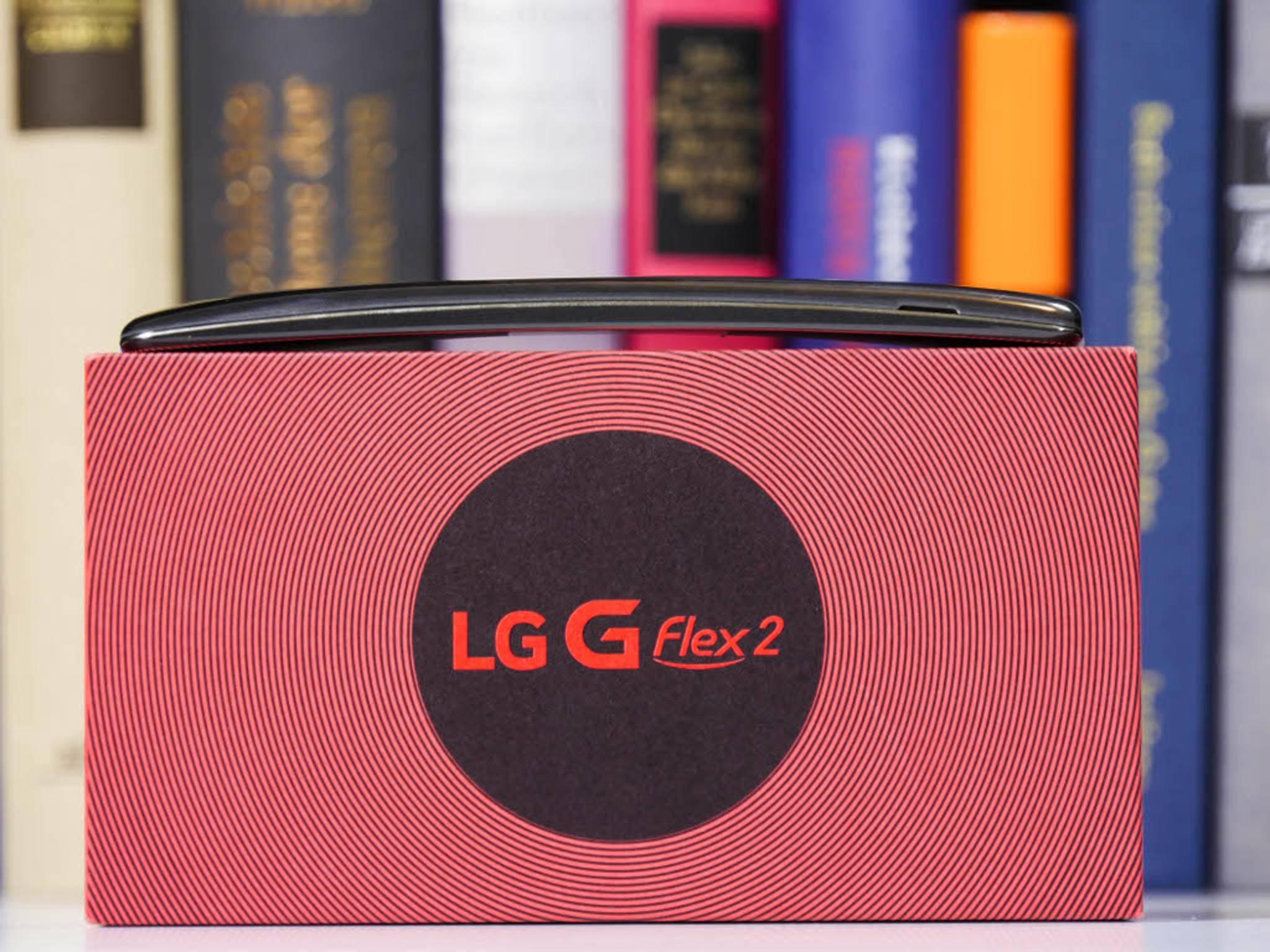Das Highlight des LG G Flex 2 ist sicherlich die Krümmung.