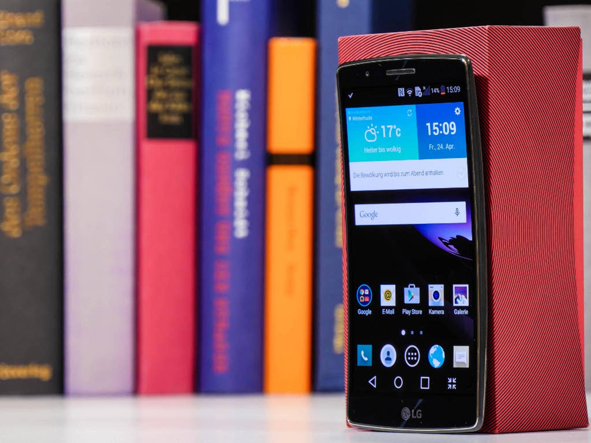 Das LG G Flex 2 soll 2016 einen Nachfolger erhalten.