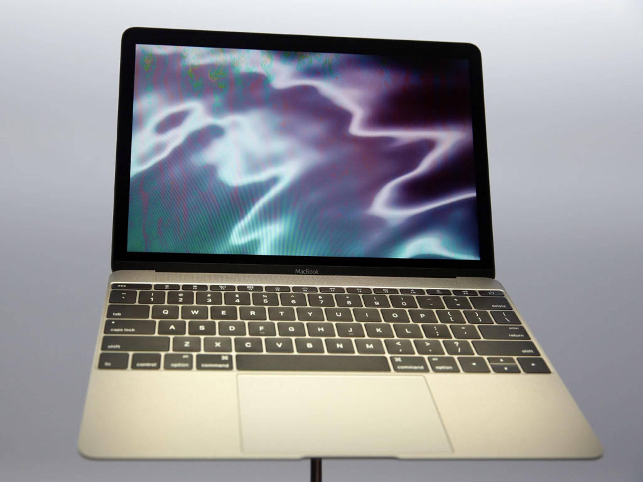 Das MacBook 2015: Superflach, superleicht, aber die ersten Tests zeigen neben Licht auch Schatten.