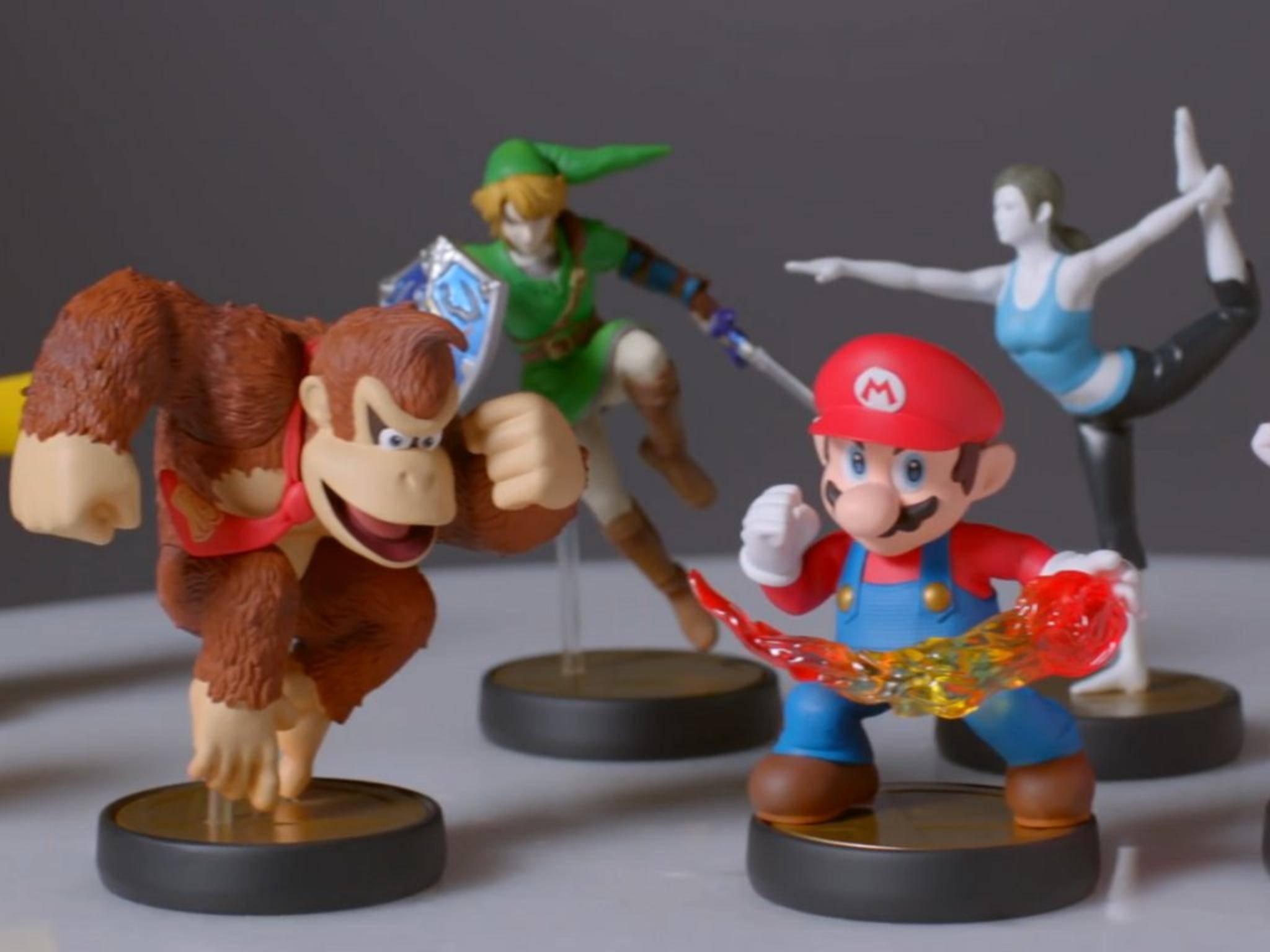 Die Amiibo-Figuren von Nintendo: Vermutlich wird es neue Kandidaten für die E3 geben.