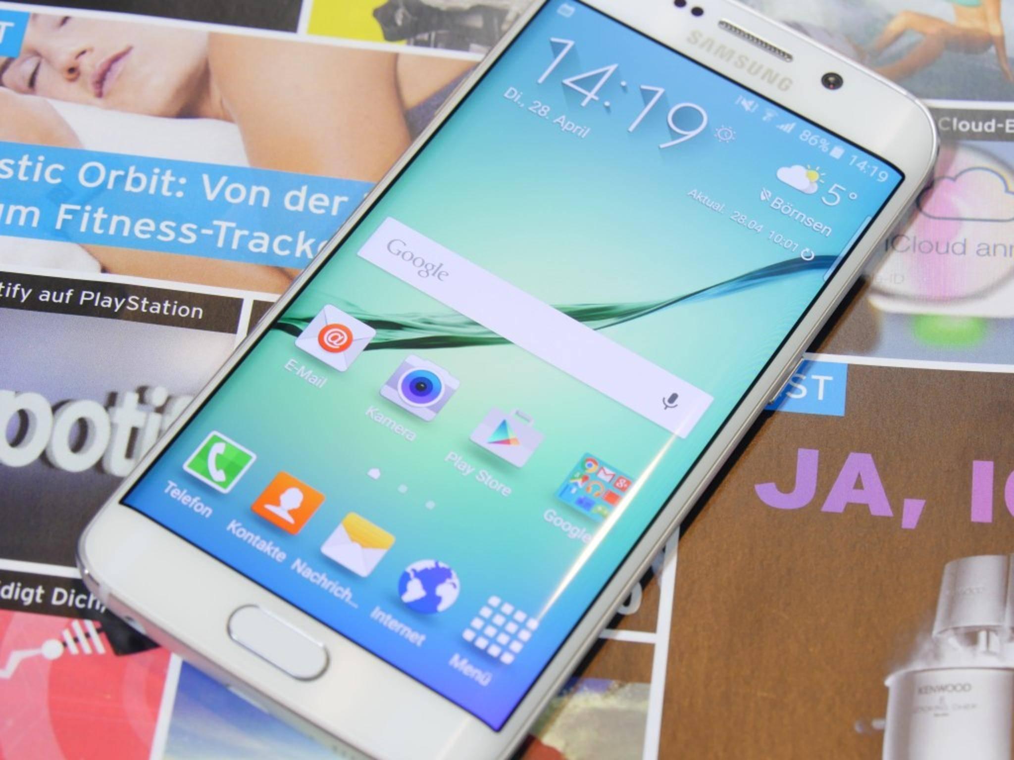 Der große Bruder des Samsung Galaxy S6 Edge soll offenbar 5,7 Zoll messen.
