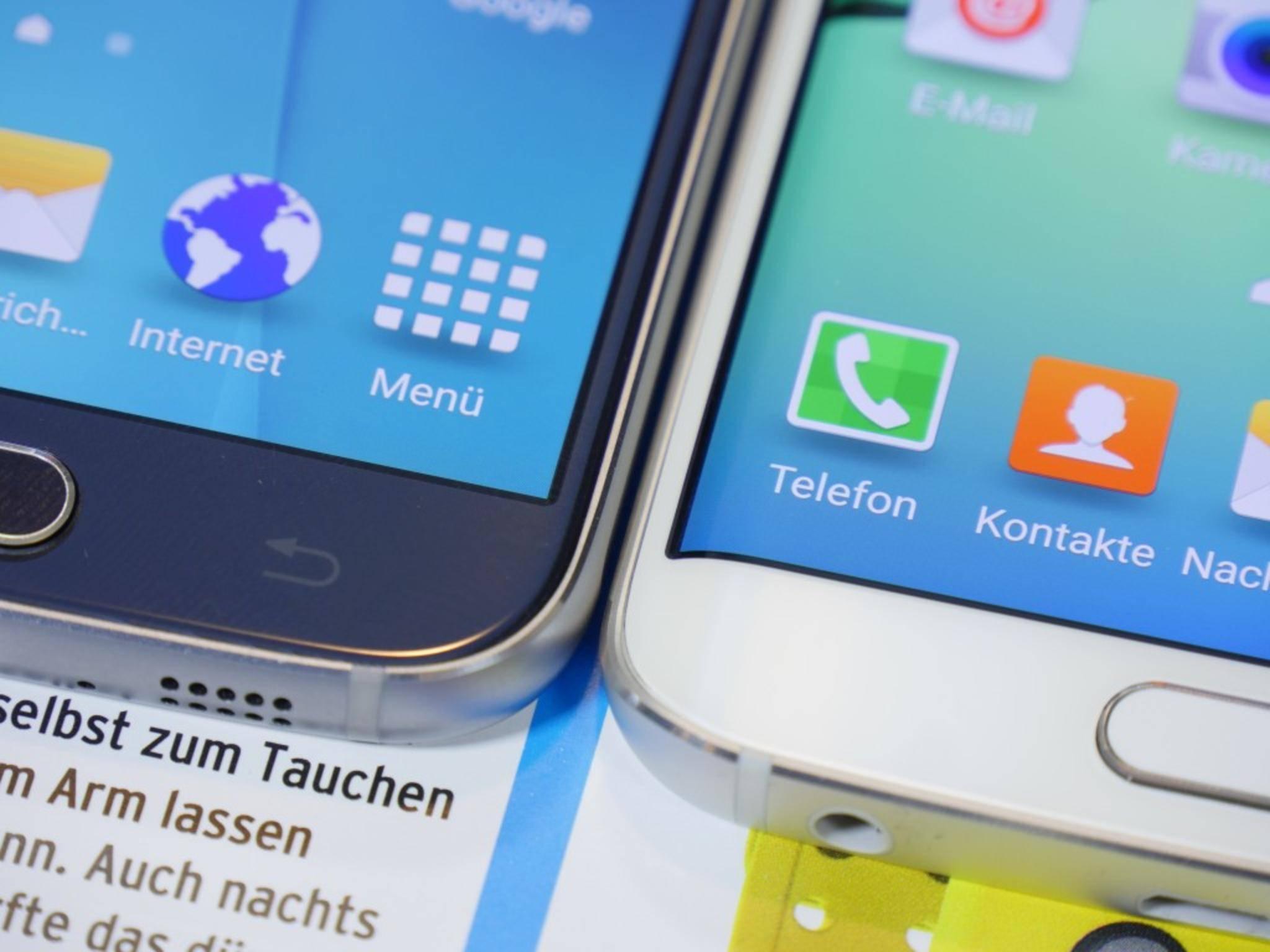 Wie groß werden Samsung Galaxy S7 und S7 Edge?