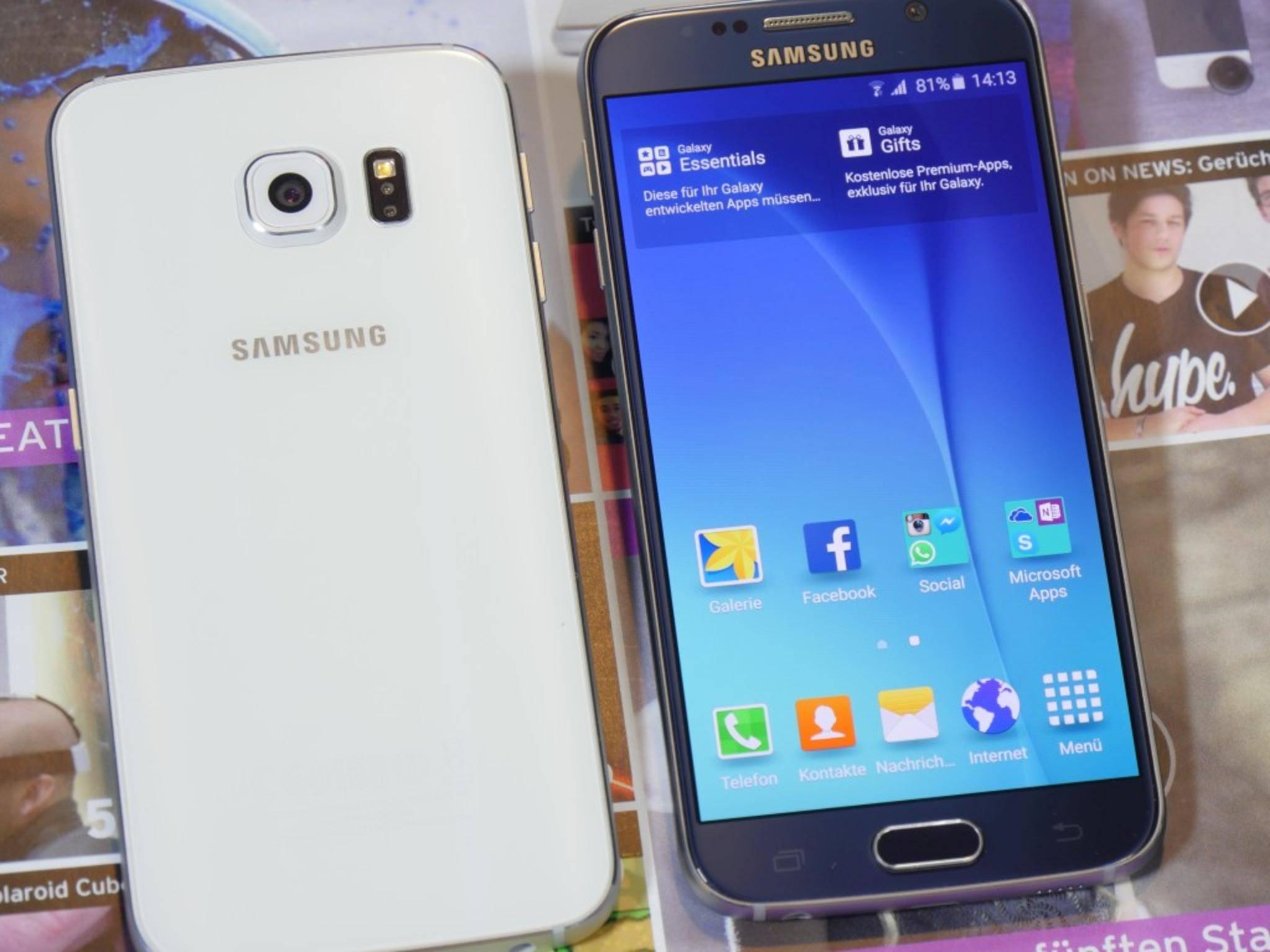 Metall statt Plastik: Beim Samsung Galaxy S6 und...