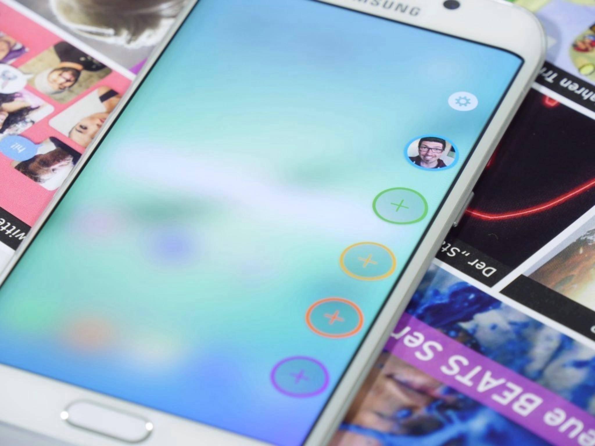 Das Edge-Menü auf dem Galaxy S6 Edge wird bald deutlich aufgemöbelt.