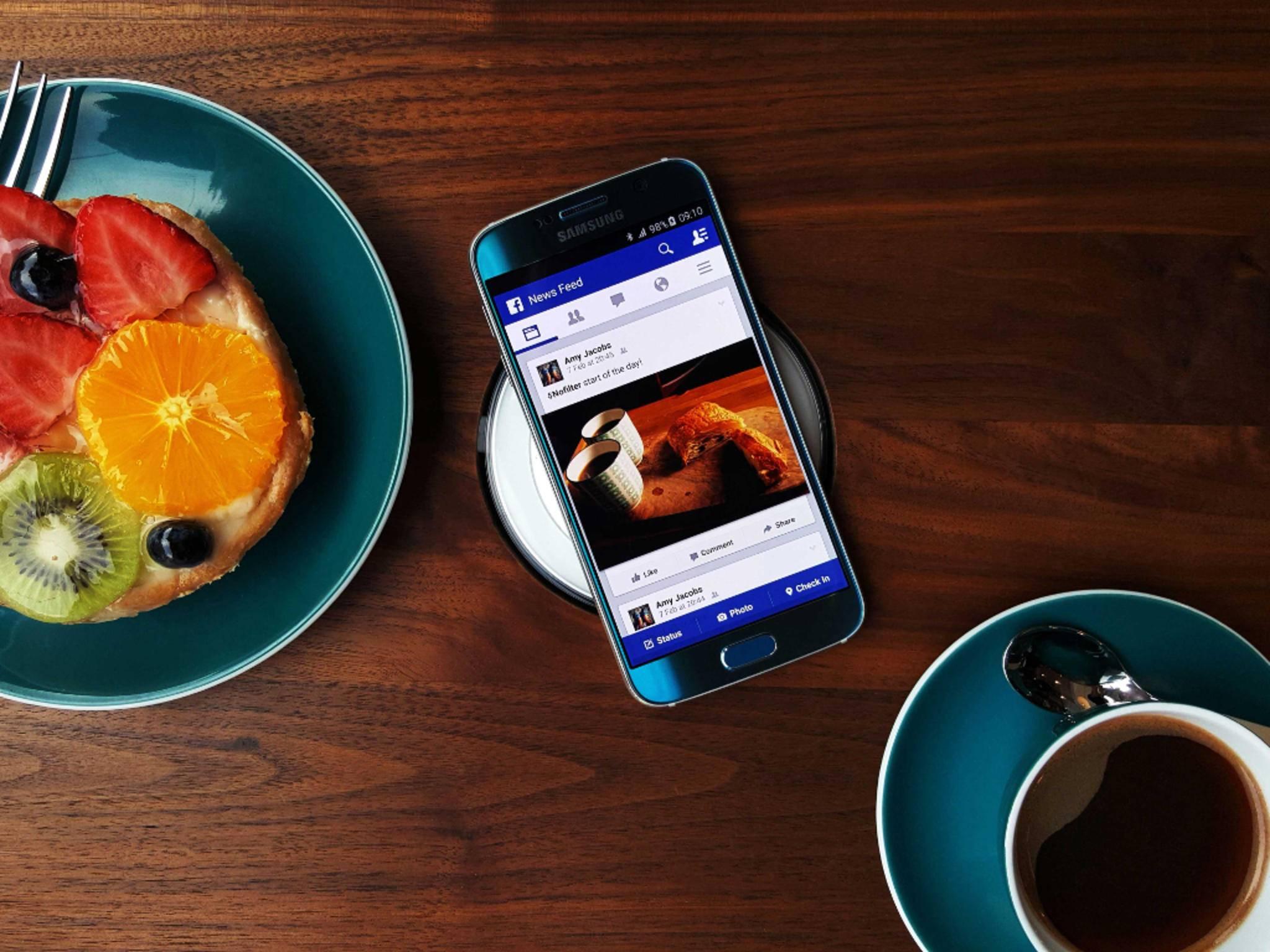 Für einen Akkutausch muss das Samsung Galaxy S6 eingeschickt werden.