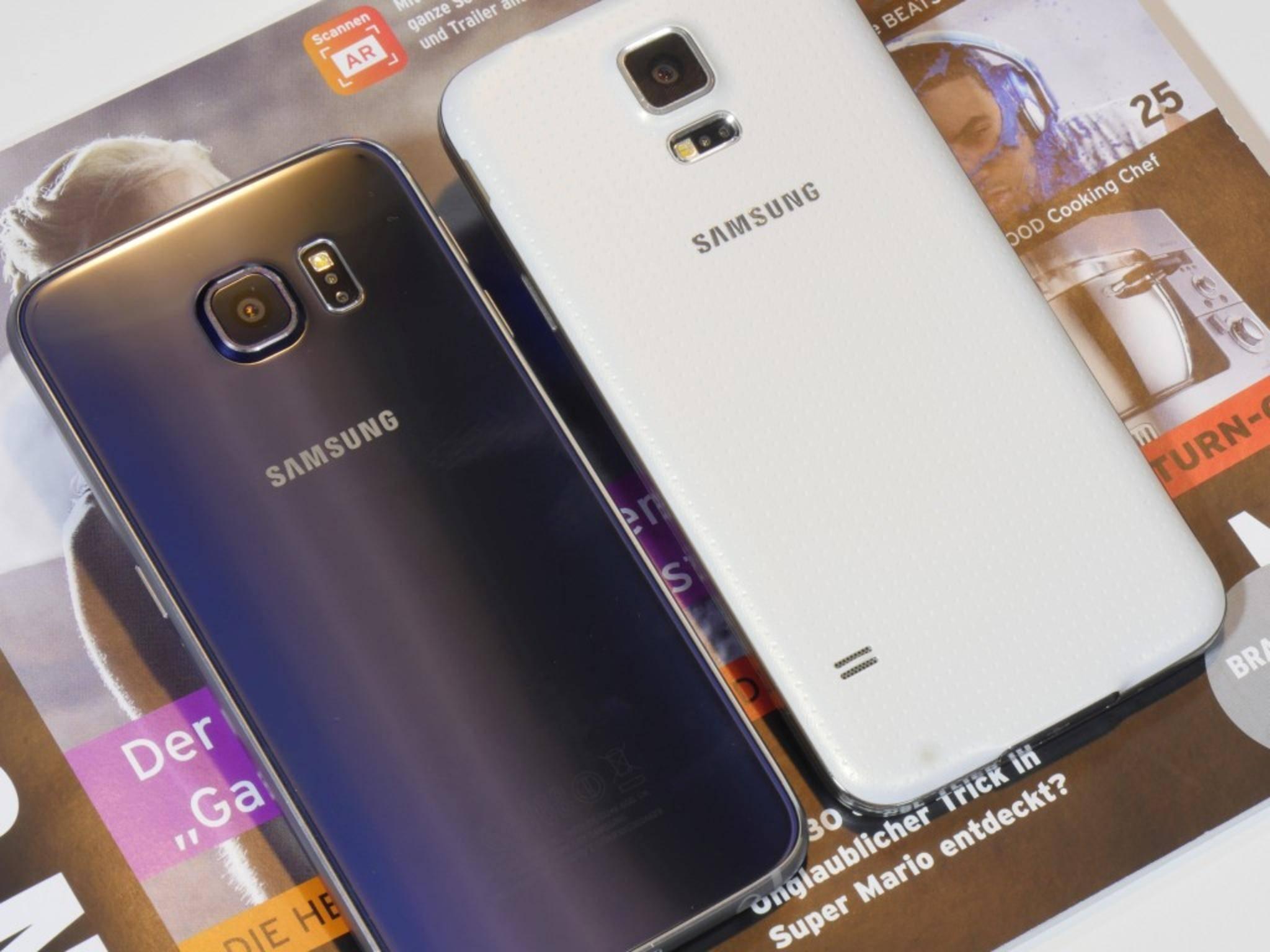 Mit Samsung Smart Switch kann man Daten schnell aufs neue Galaxy übertragen.
